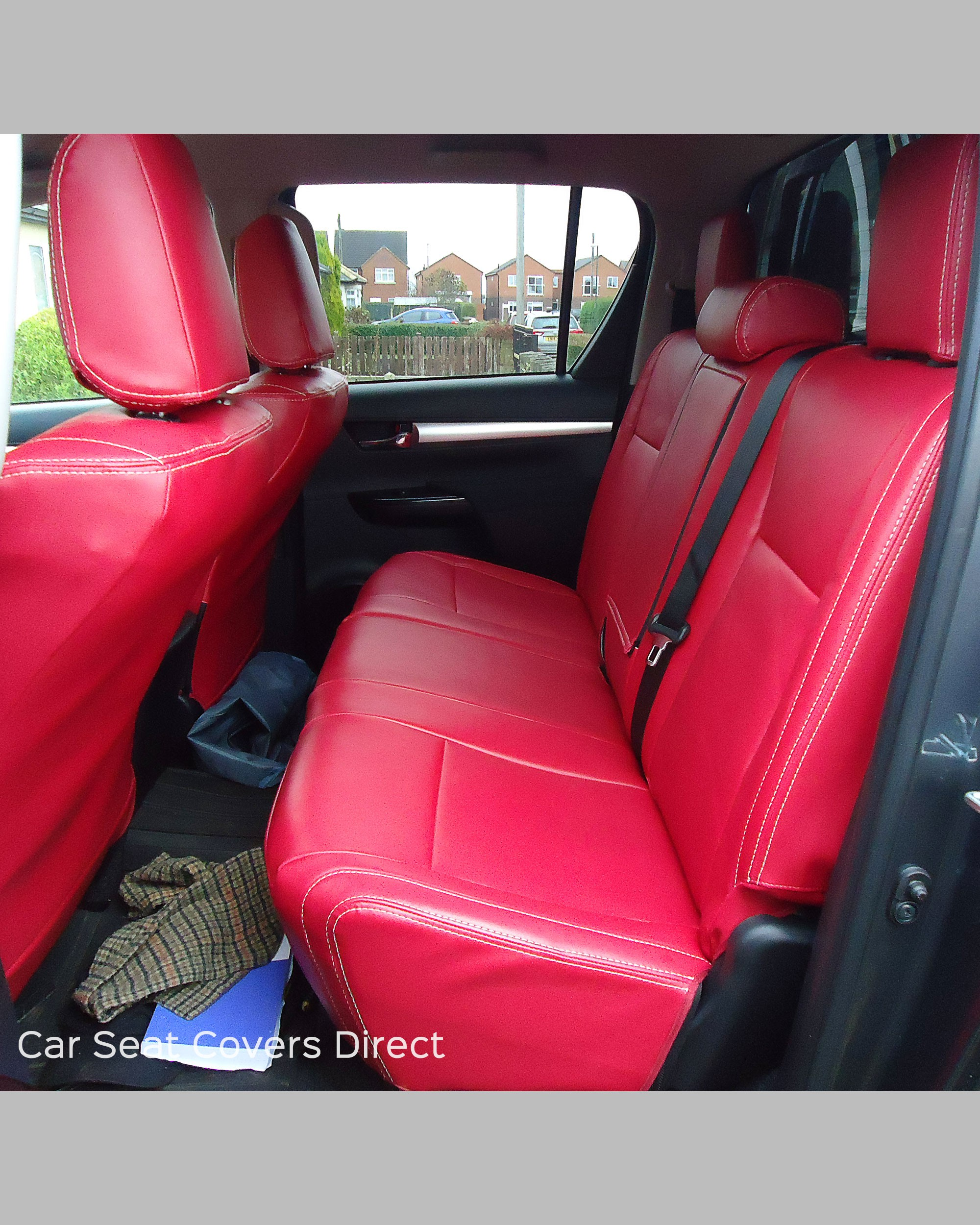 Custom Leather Seat Covers >> Toyota Hilux Tailored Seat Covers