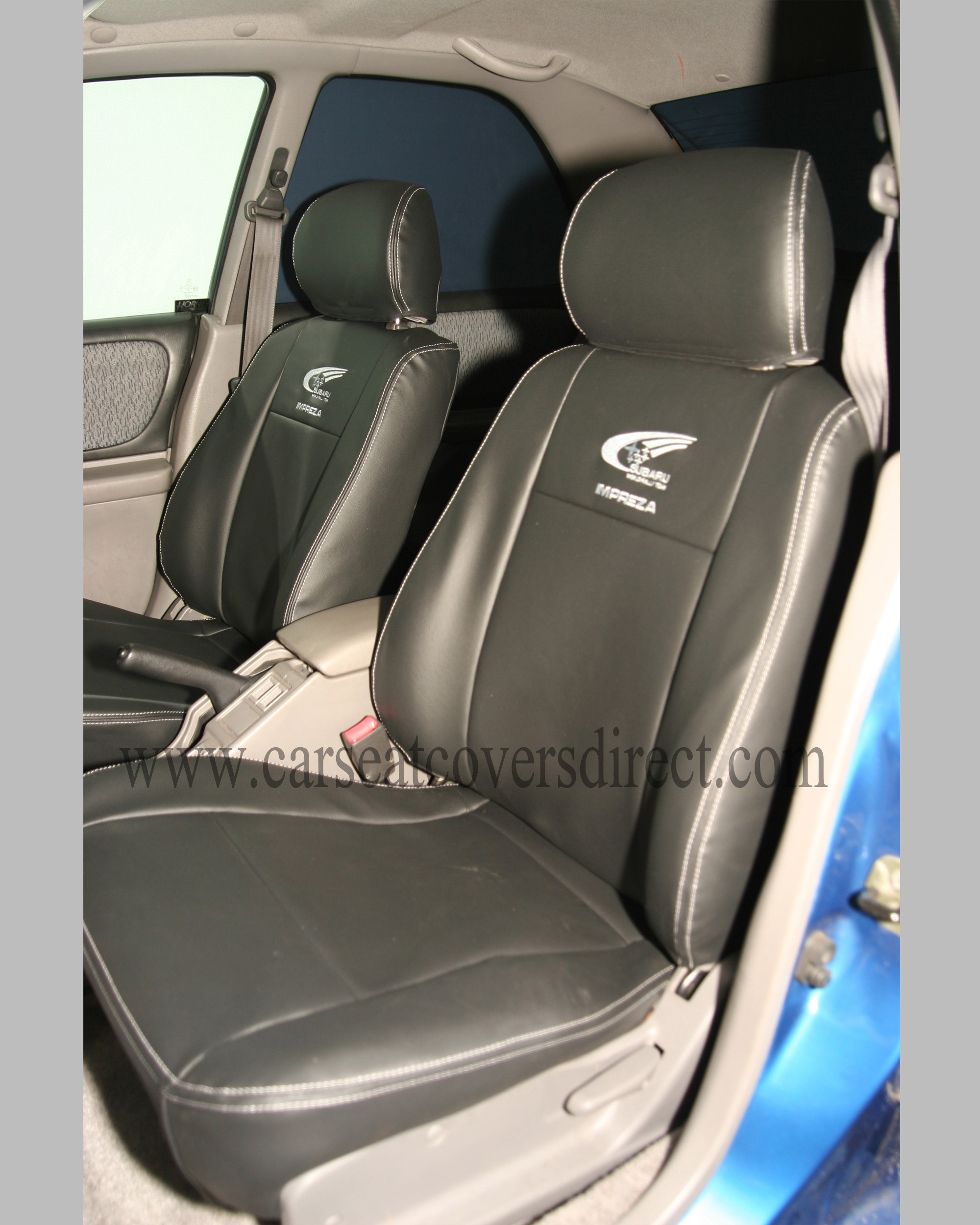 custom subaru impreza seat covers custom tailored seat covers car seat covers direct. Black Bedroom Furniture Sets. Home Design Ideas