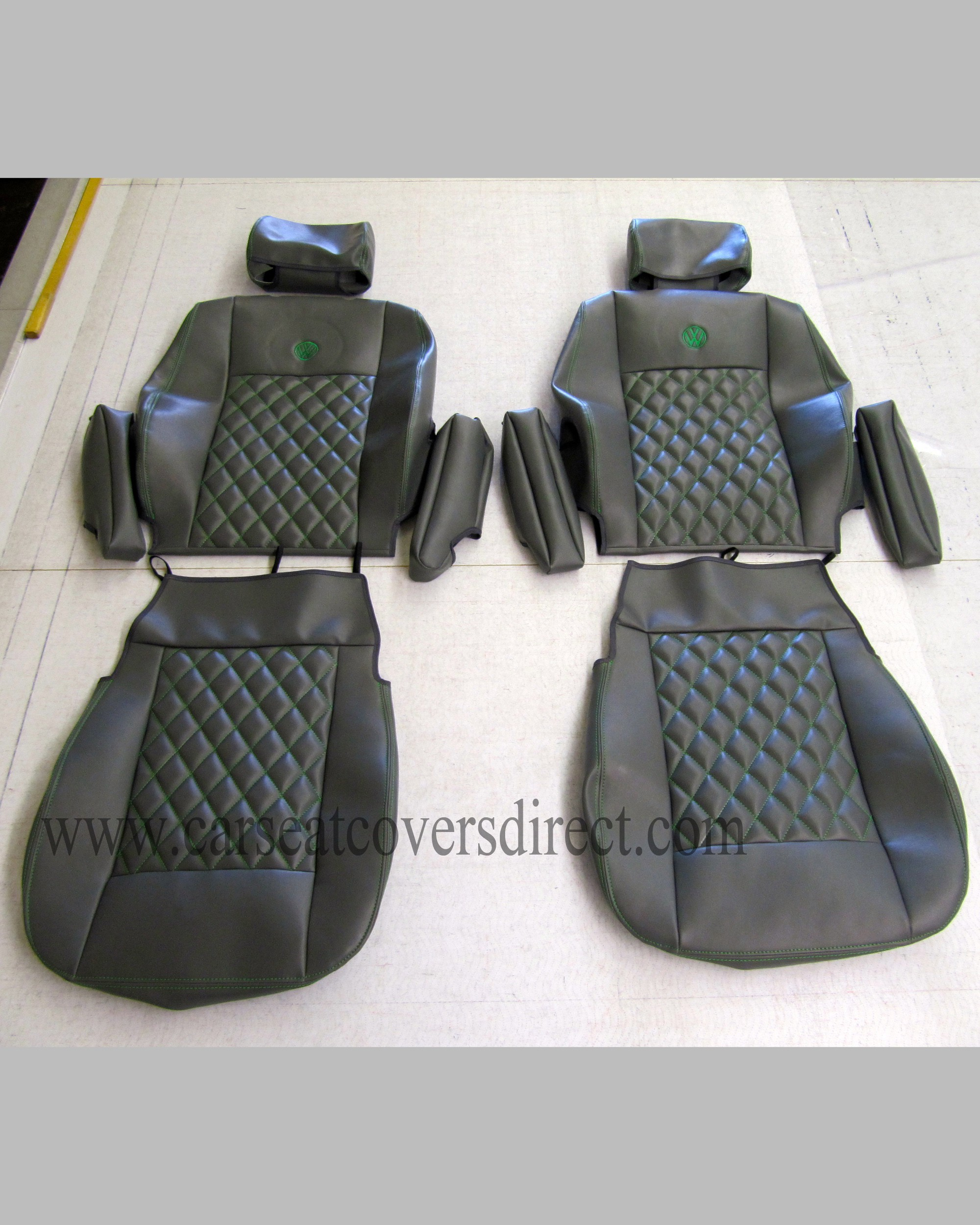 Vw T4 Seat Covers Black Diamond Quilted Seat Car Seat