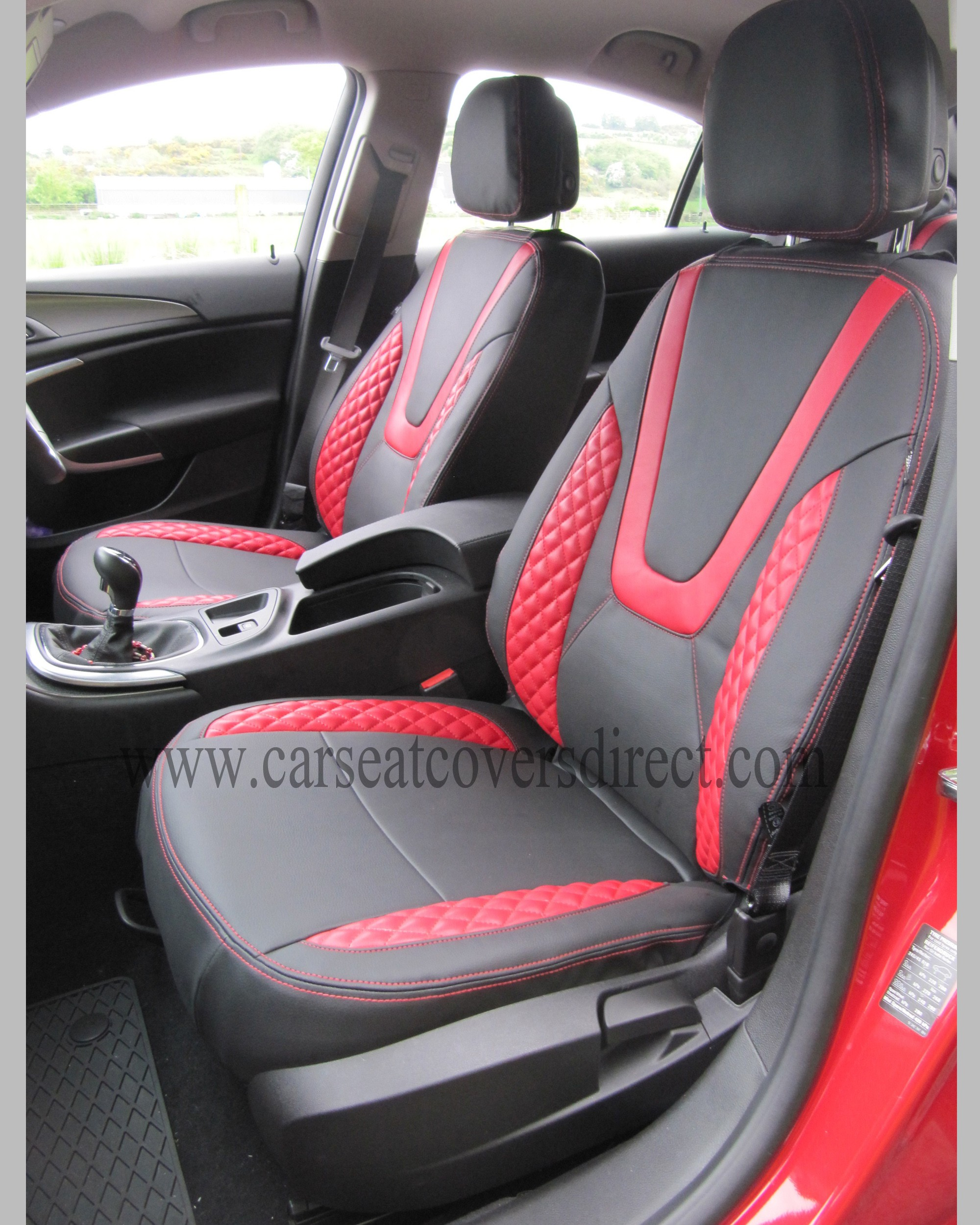 Opel Insignia Black Amp Red Seat Covers