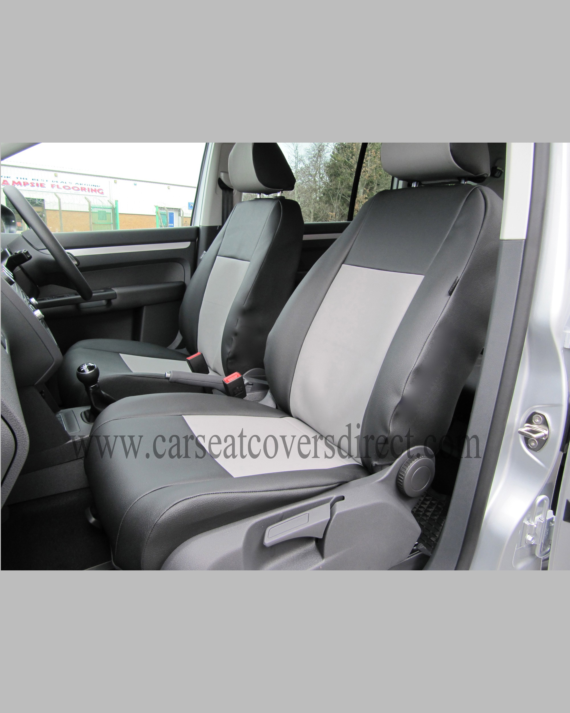 volkswagen vw touran black grey seat covers 7 seats car seat covers direct tailored to. Black Bedroom Furniture Sets. Home Design Ideas