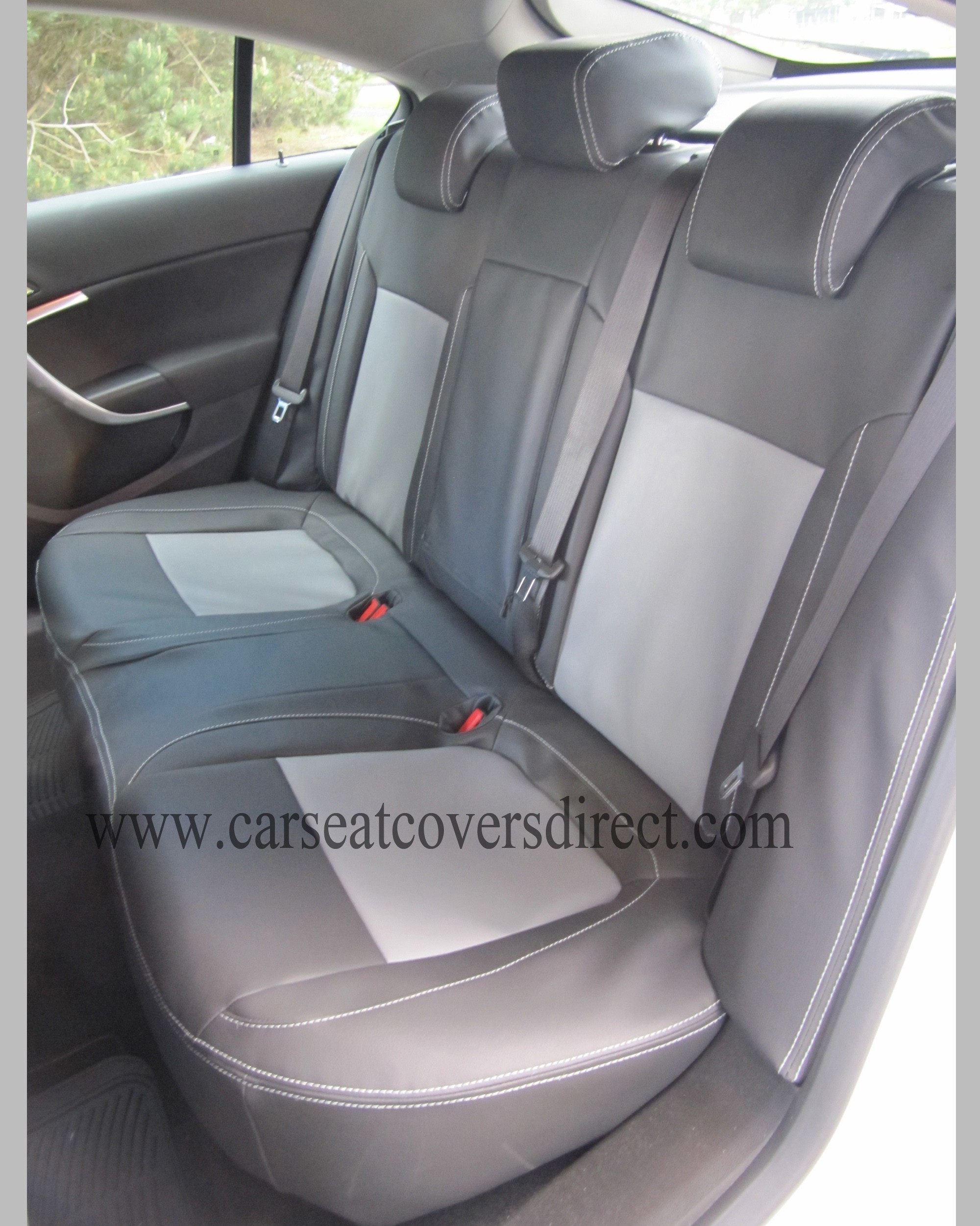 OPEL INSIGNIA Black & Grey Seat Covers