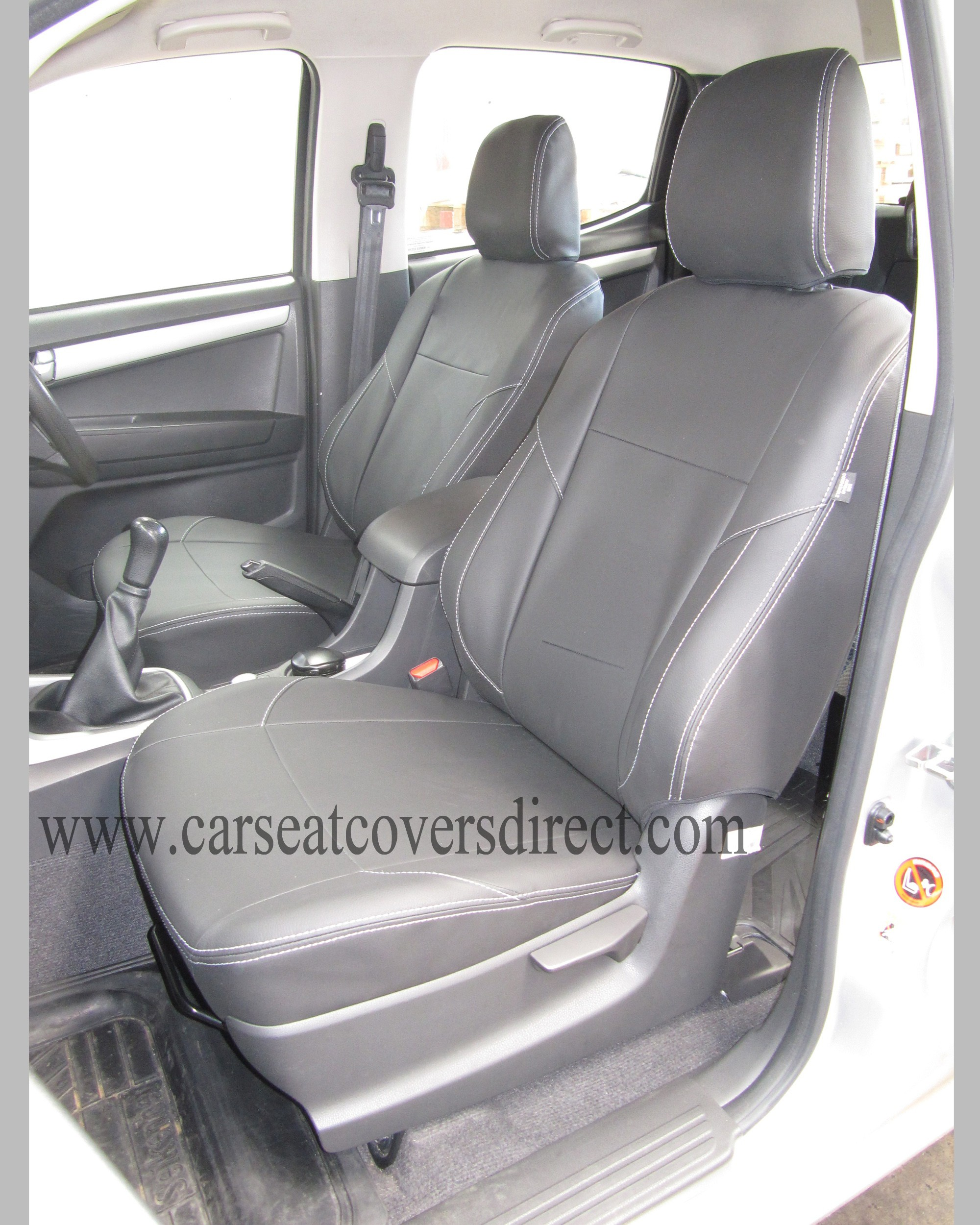 Custom ISUZU D MAX 2ND GEN Seat Covers