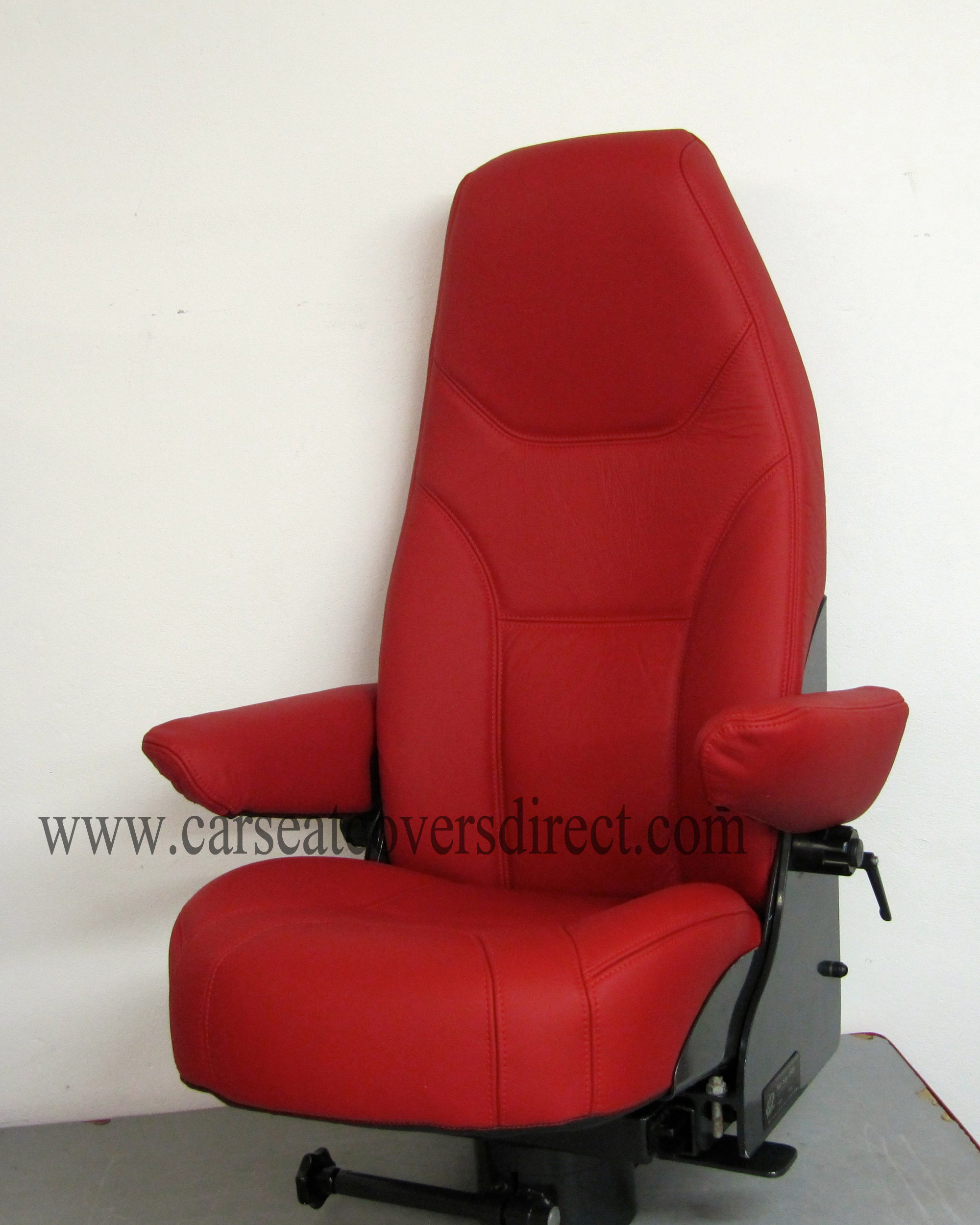 BOAT SEATS LEATHER RETRIM - Custom car seat covers - Custom