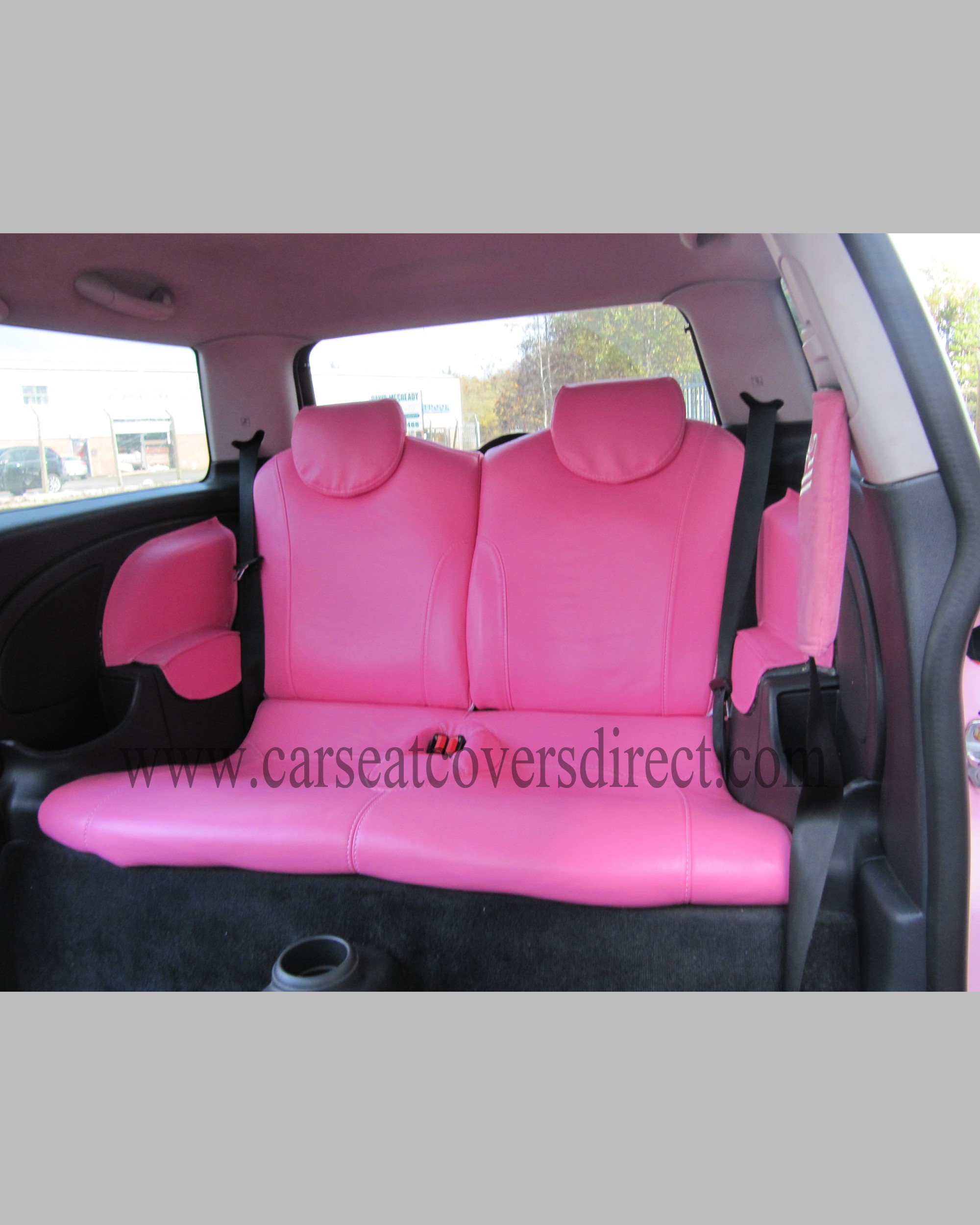 Custom MINI COOPER Seat Covers More Images Click To View