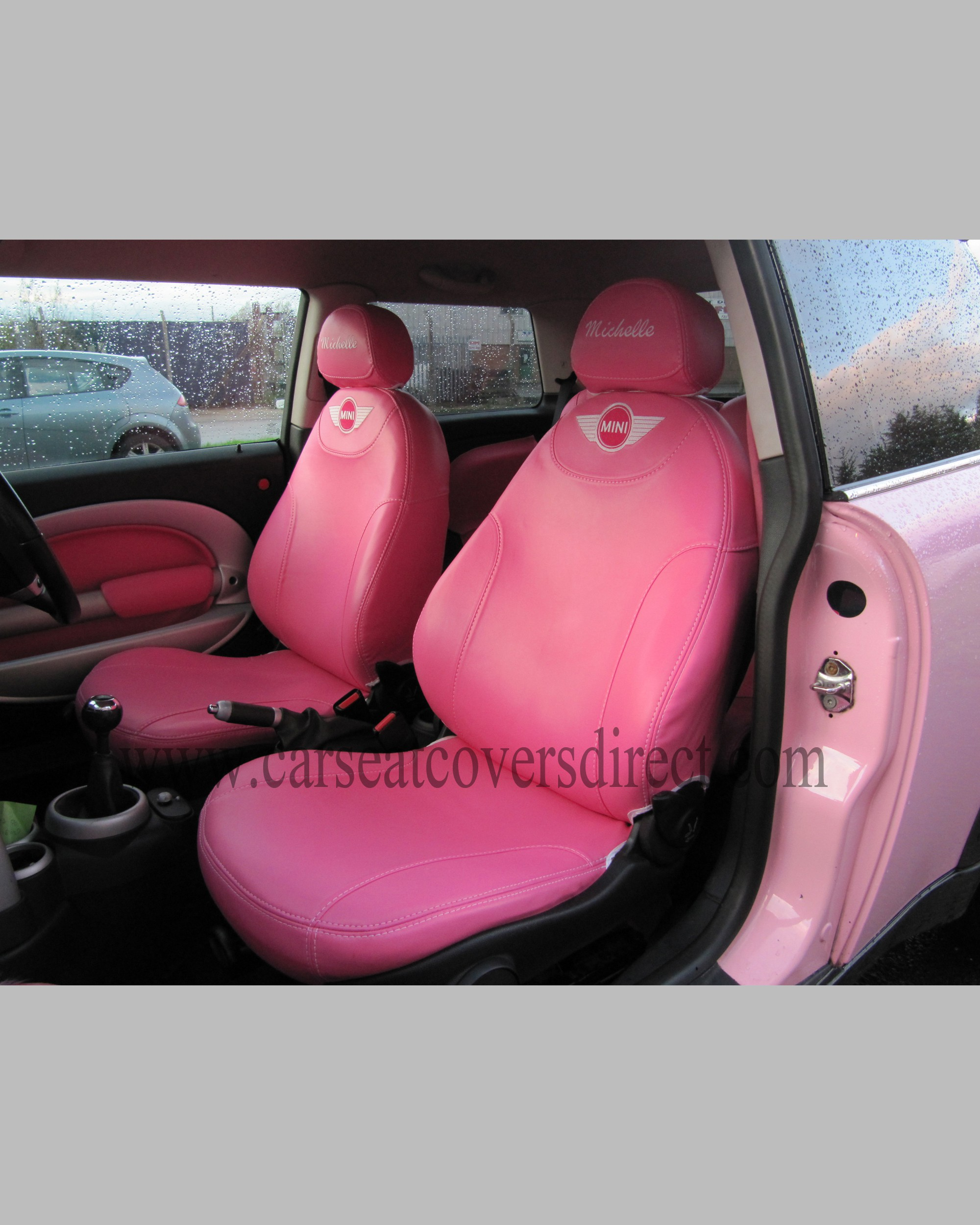 custom mini cooper seat covers car seat covers direct tailored to your choice. Black Bedroom Furniture Sets. Home Design Ideas