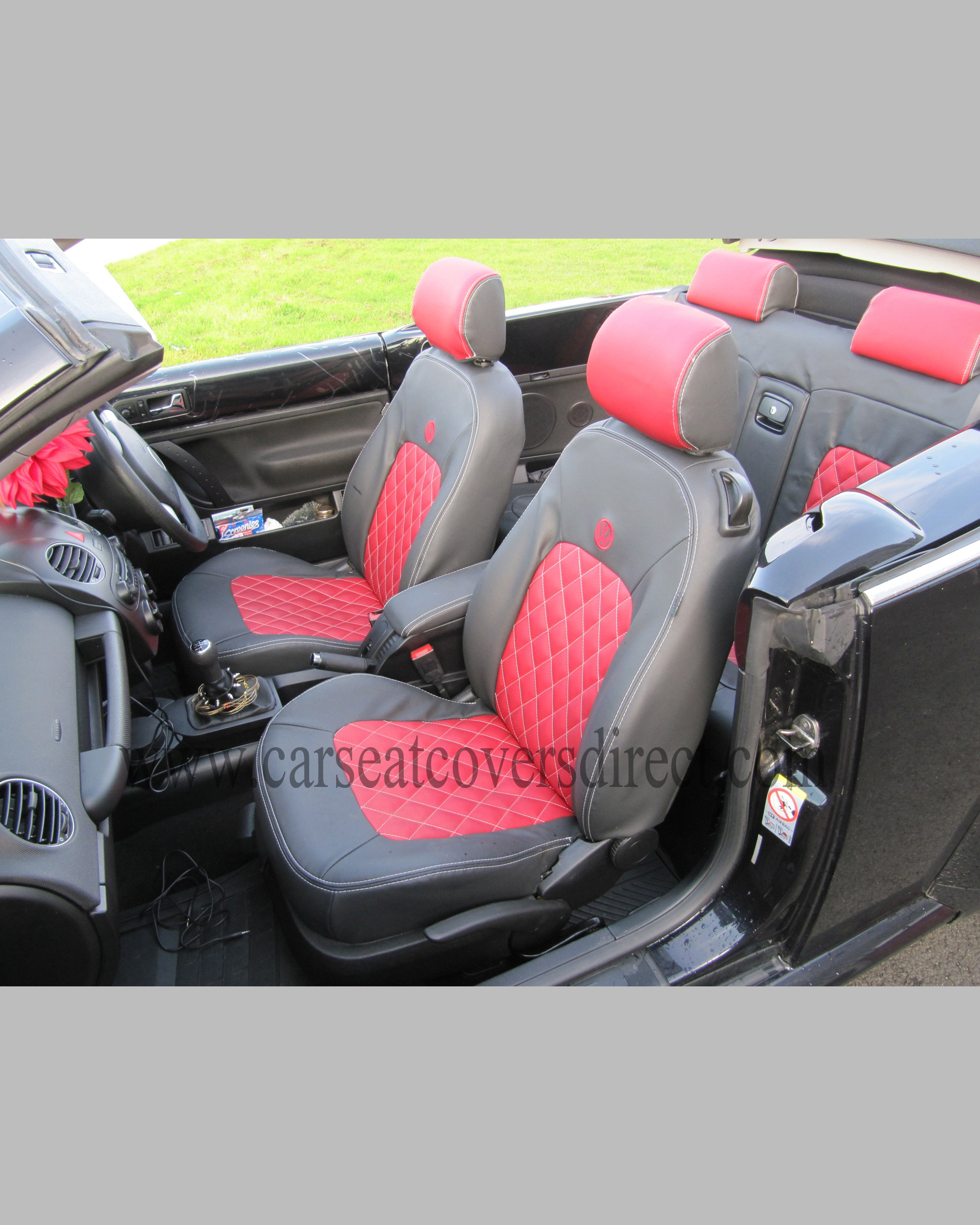 interior review with covers video beetle volkswagen seat