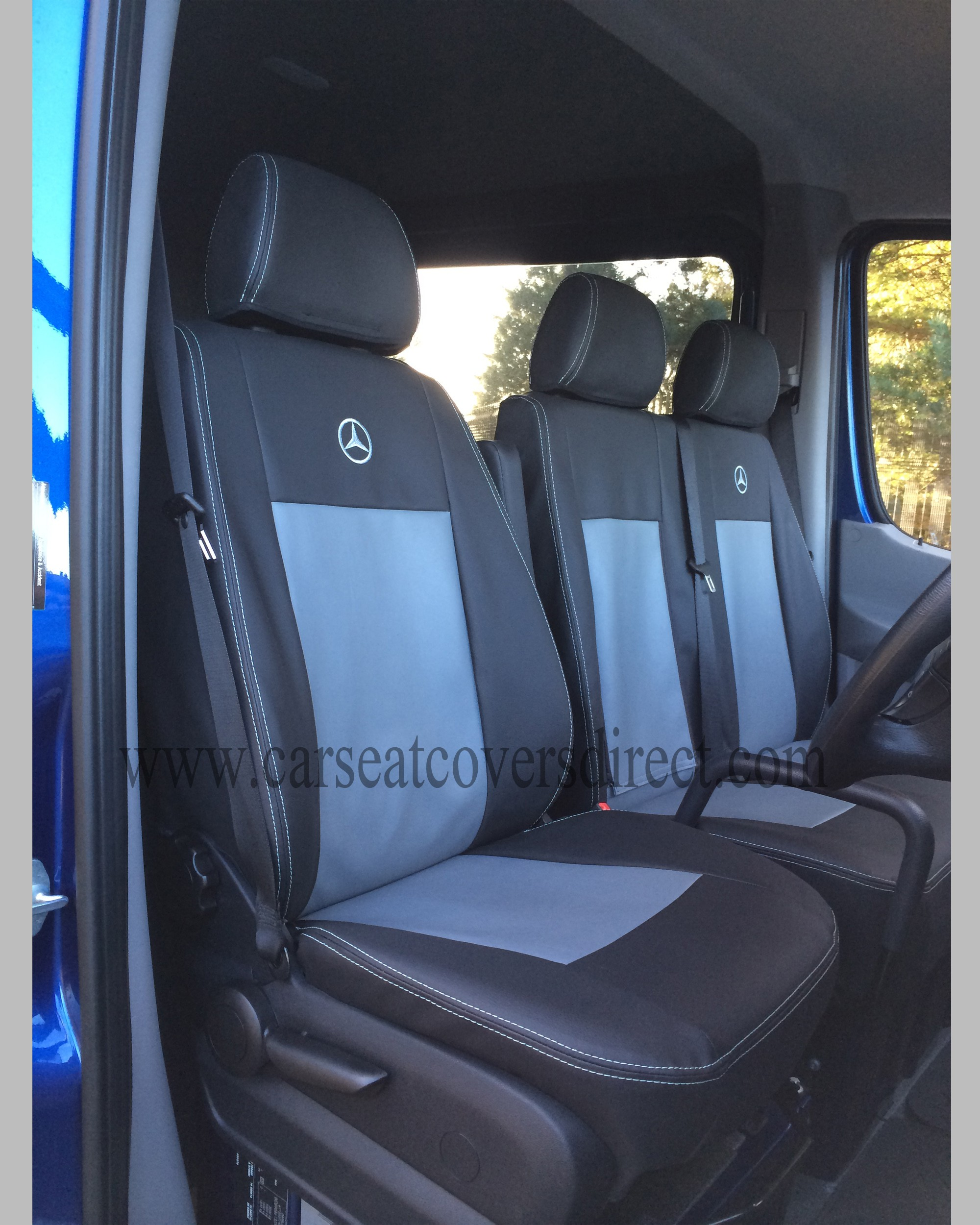 Mercedes Sprinter Seat Covers Black Amp Grey