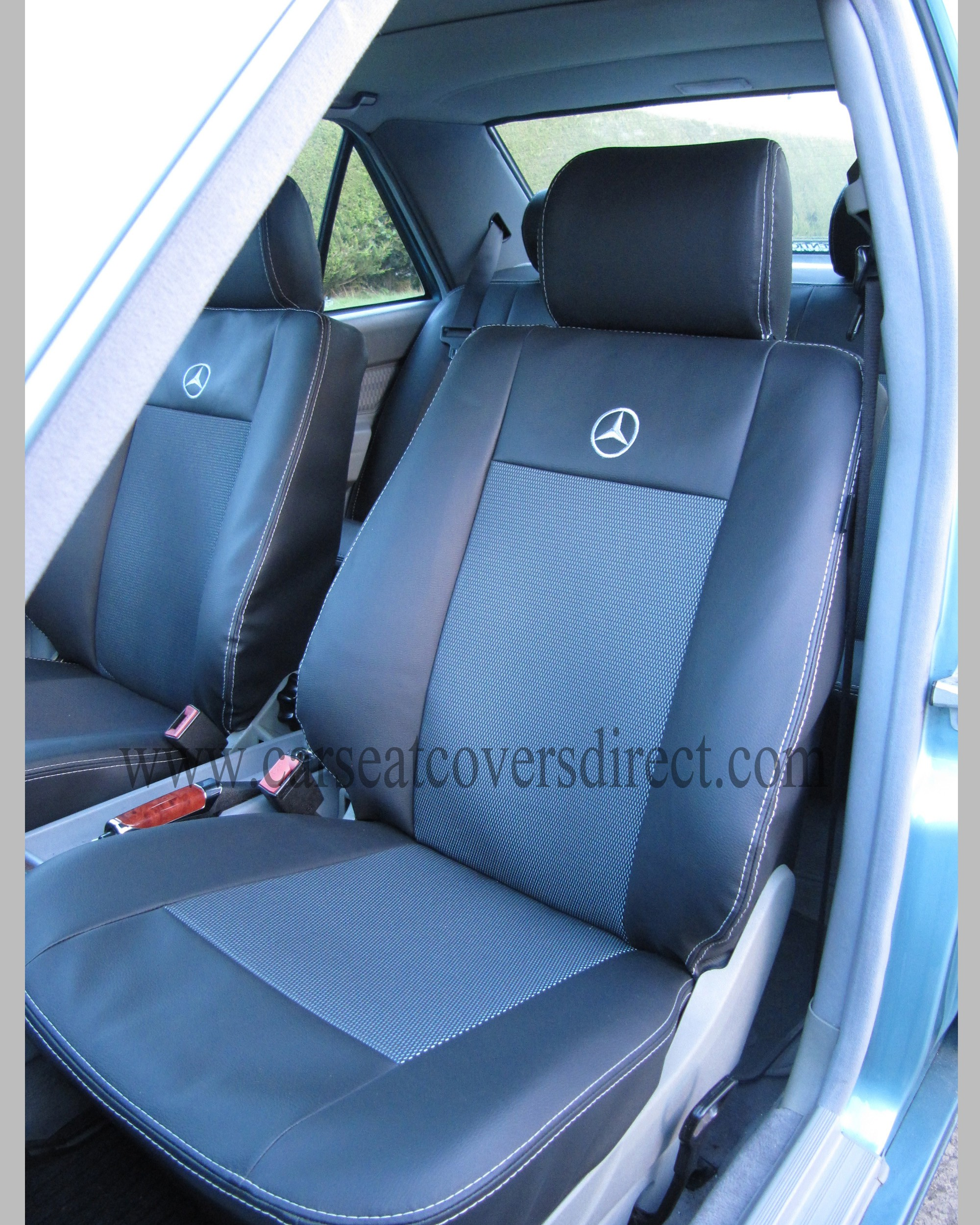 Mercedes s class w126 seat covers car seat covers direct for Mercedes benz e350 car cover