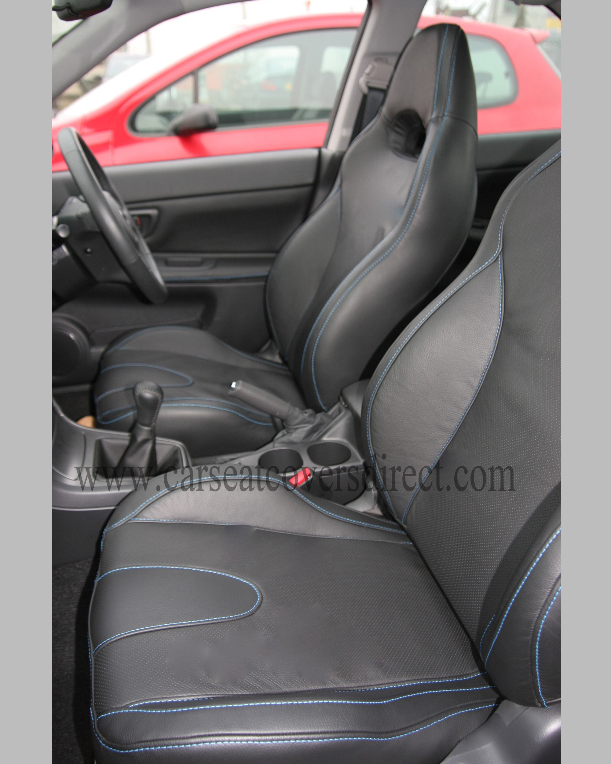 subaru impreza leather retrim car seat covers direct tailored to your choice. Black Bedroom Furniture Sets. Home Design Ideas