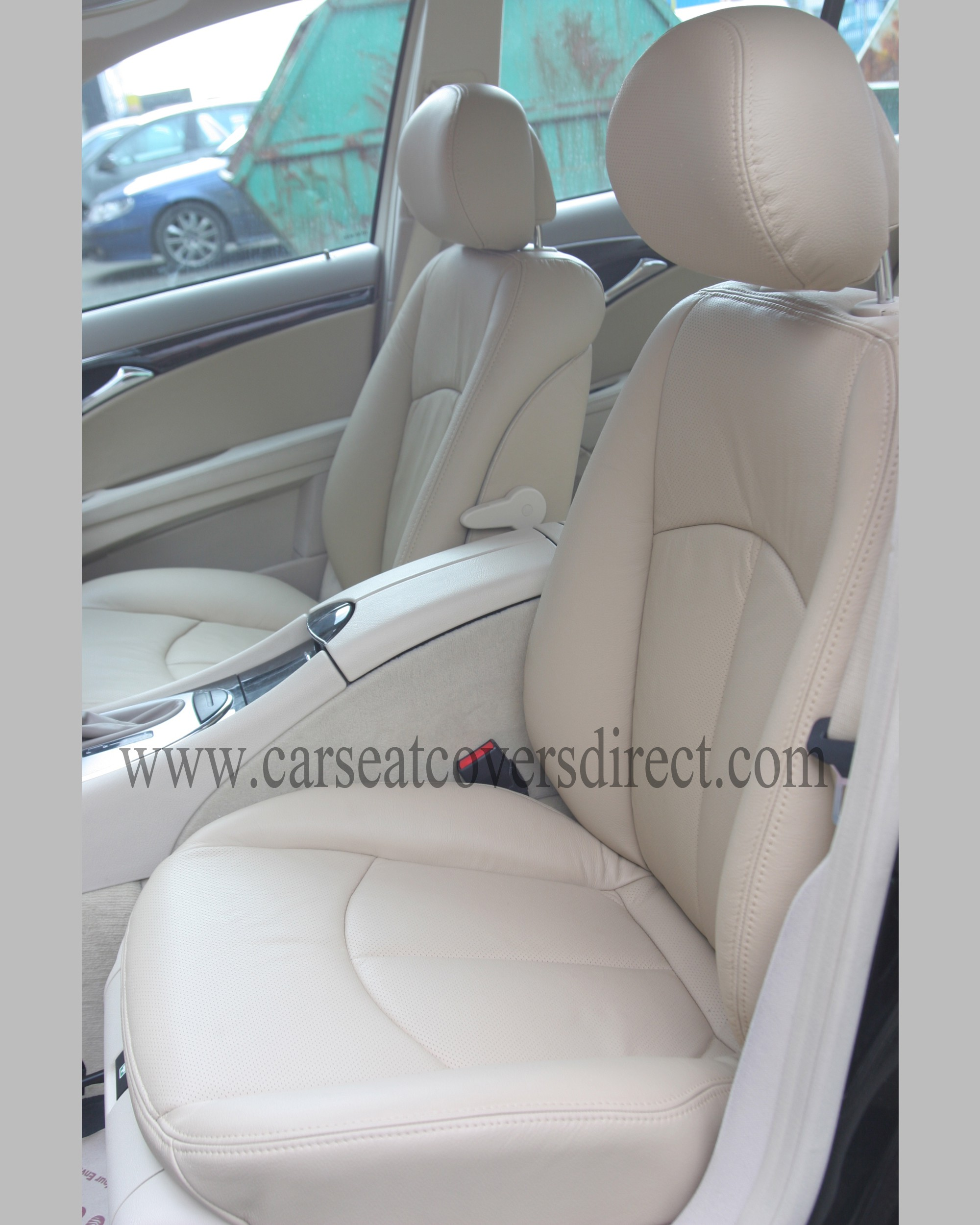 Mercedes e class w211 leather retrim car seat covers for Mercedes benz ml350 seat covers