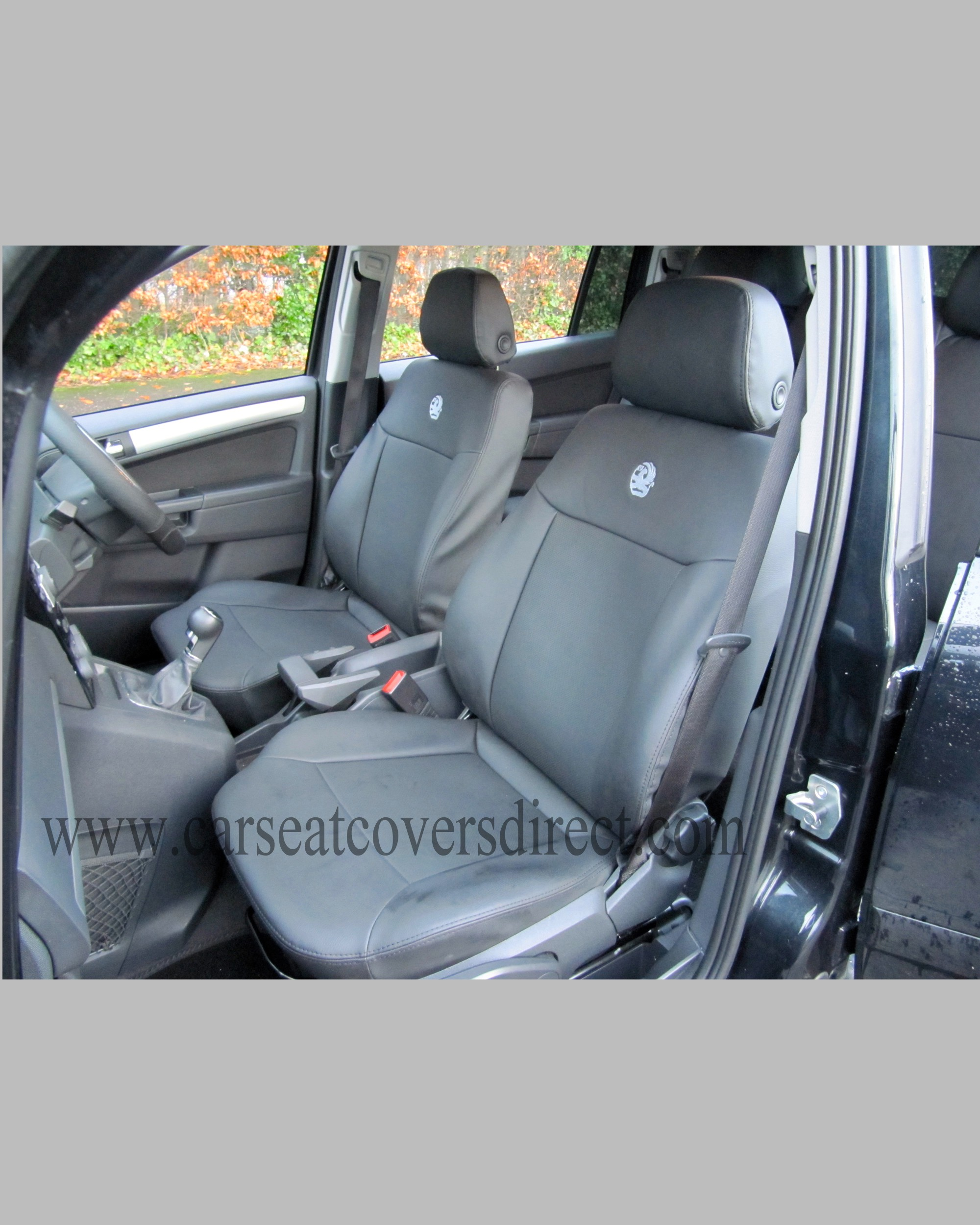 OPEL ZAFIRA Black Seat Covers
