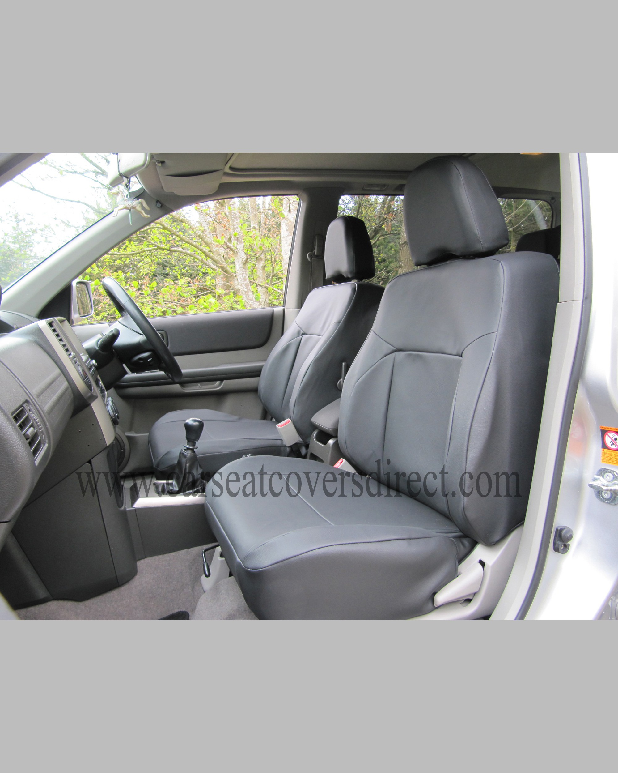 Nissan X Trail Camper >> NISSAN X-TRAIL Black Leatherette Seat Covers - Custom car seat covers - Custom Tailored Seat ...