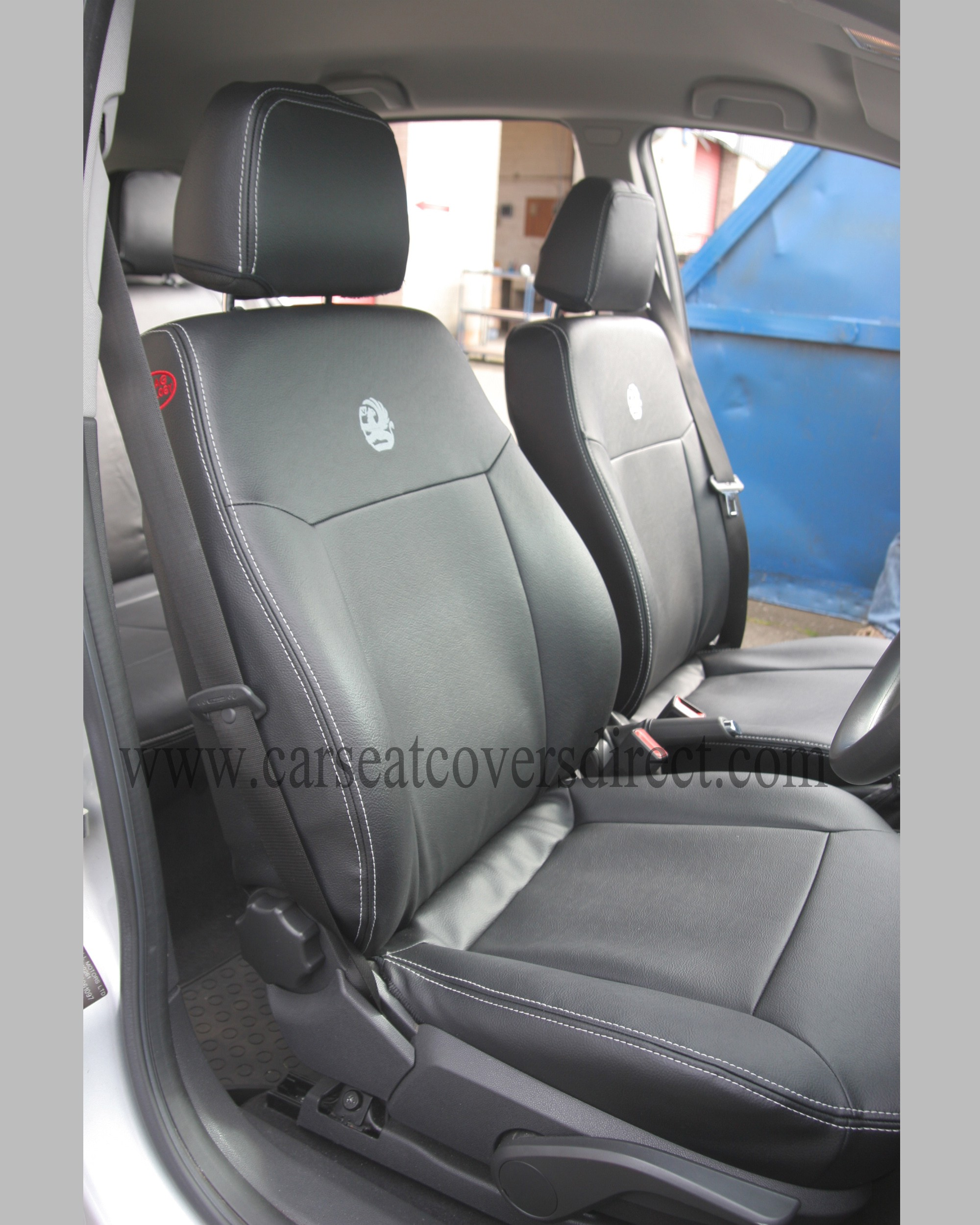 OPEL ASTRA H Black Seat Covers Car Seat Covers Direct - Tailored To
