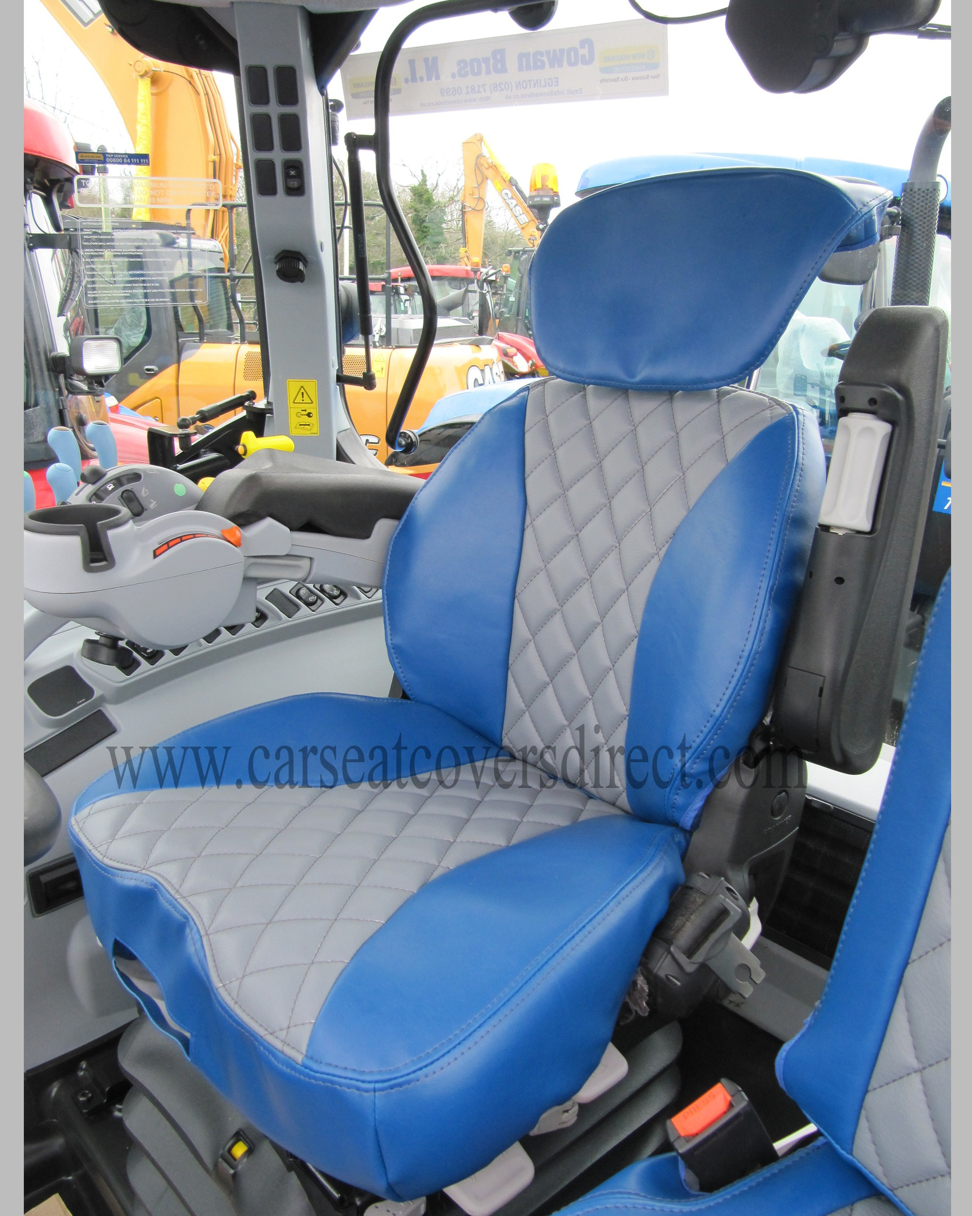 Grammer Seat Covers : Grammer maximo dynamic side seat new holland case ih
