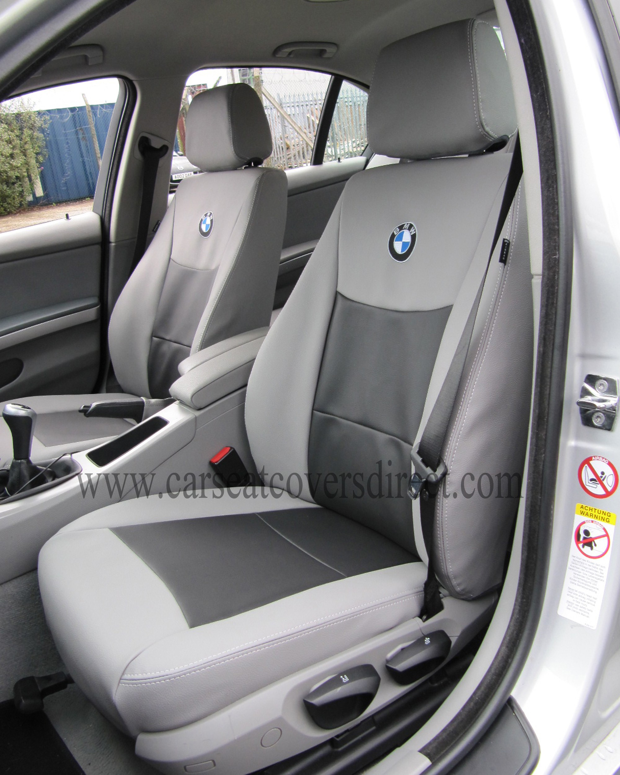 Bmw 3 Series E90 Grey Black Seat Covers Car Seat Covers Direct