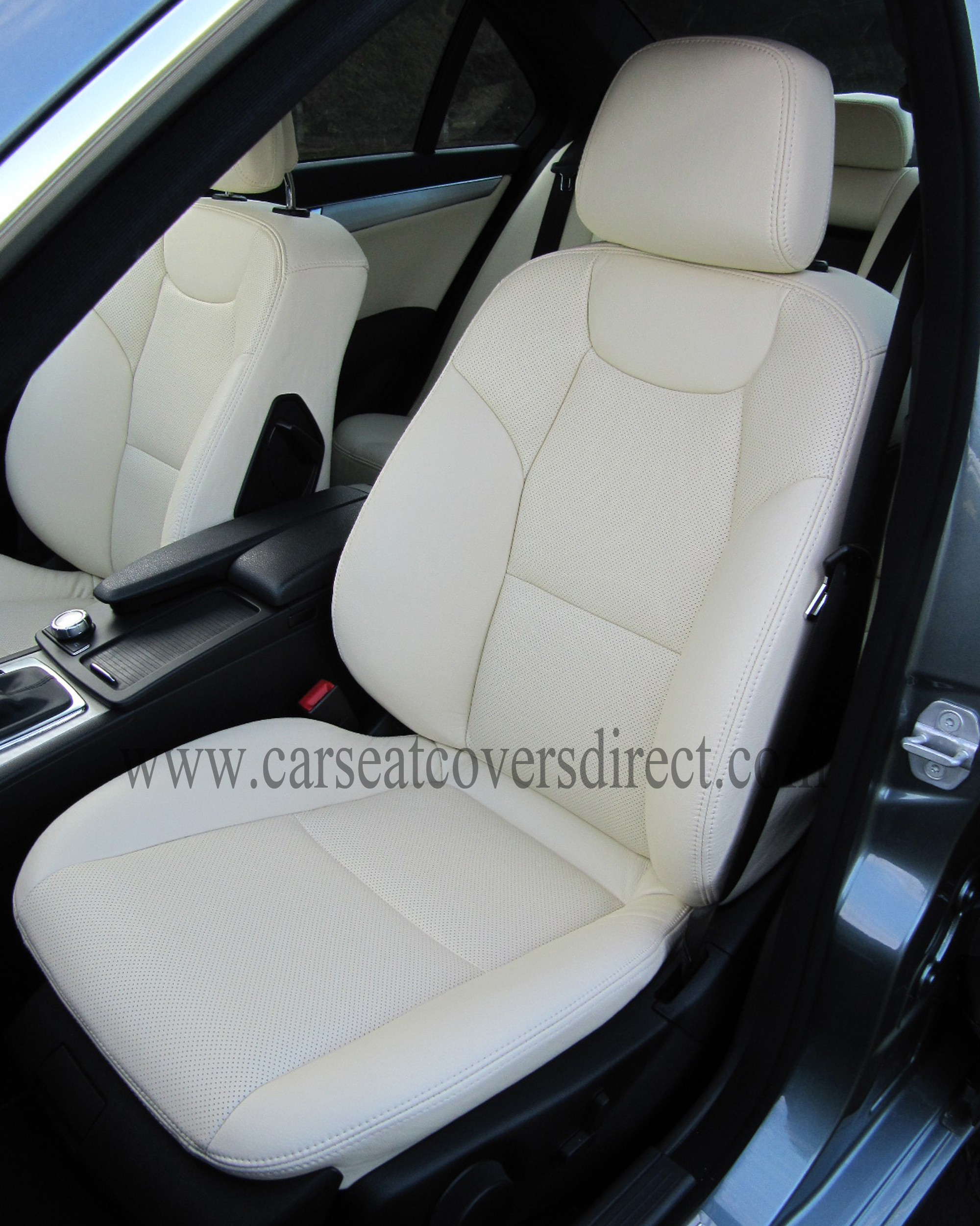 MERCEDES C-CLASS W204 LEATHER RETRIM Car Seat Covers Direct - Tailored To Your Choice