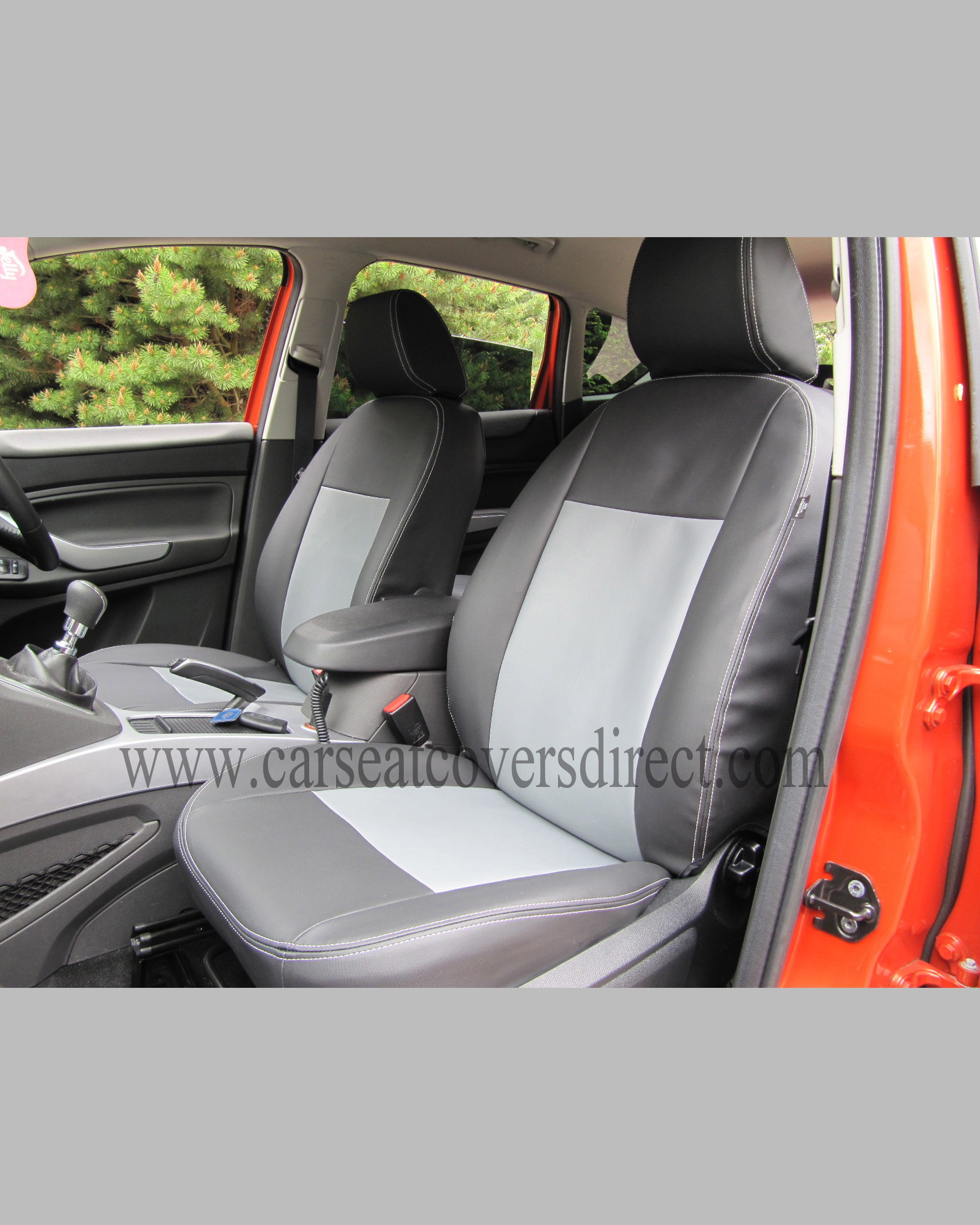 Ford Kuga 1st Gen Black Amp Grey Seat Covers