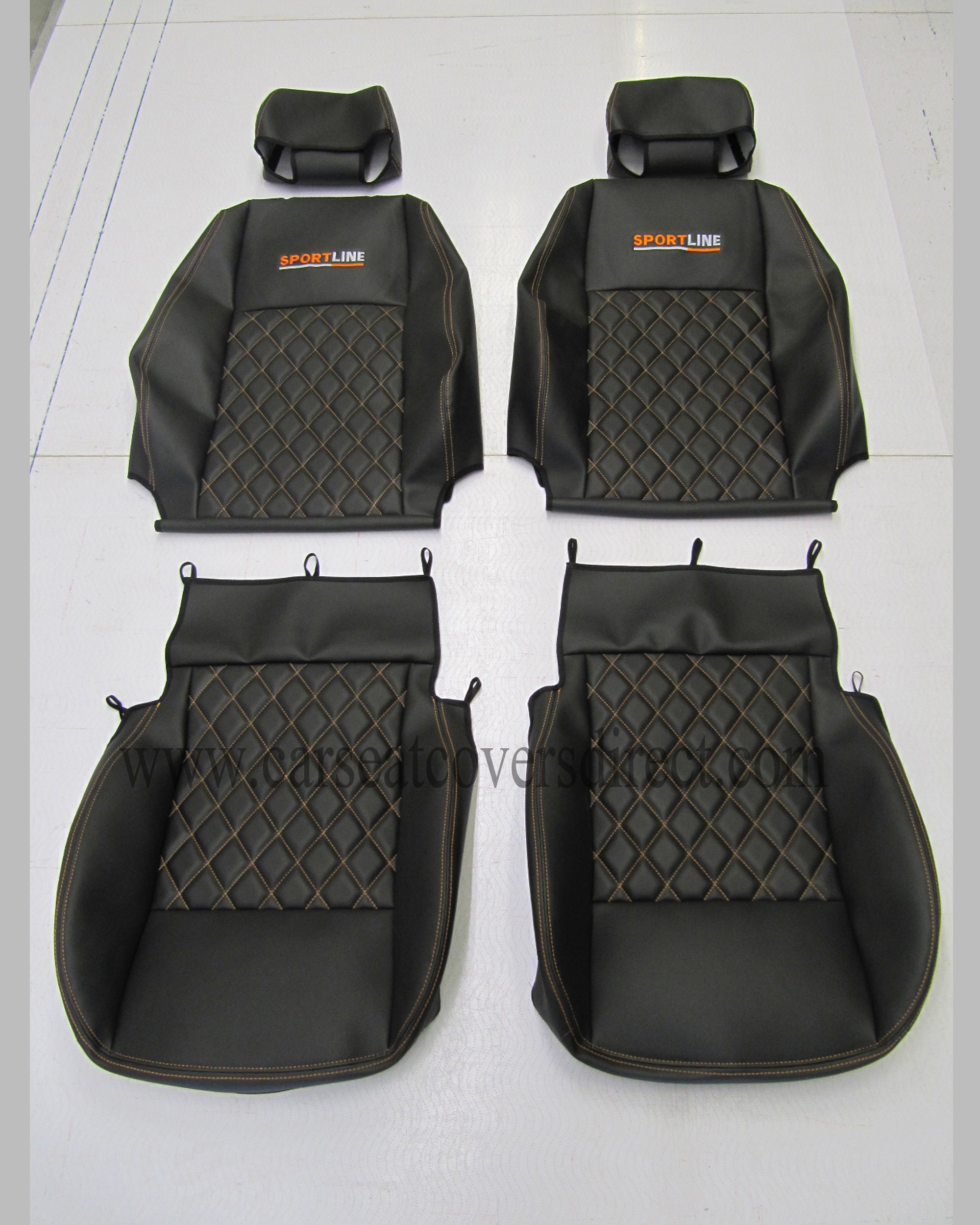VOLKSWAGEN VW Caddy Black Seat Covers Car Seat Covers
