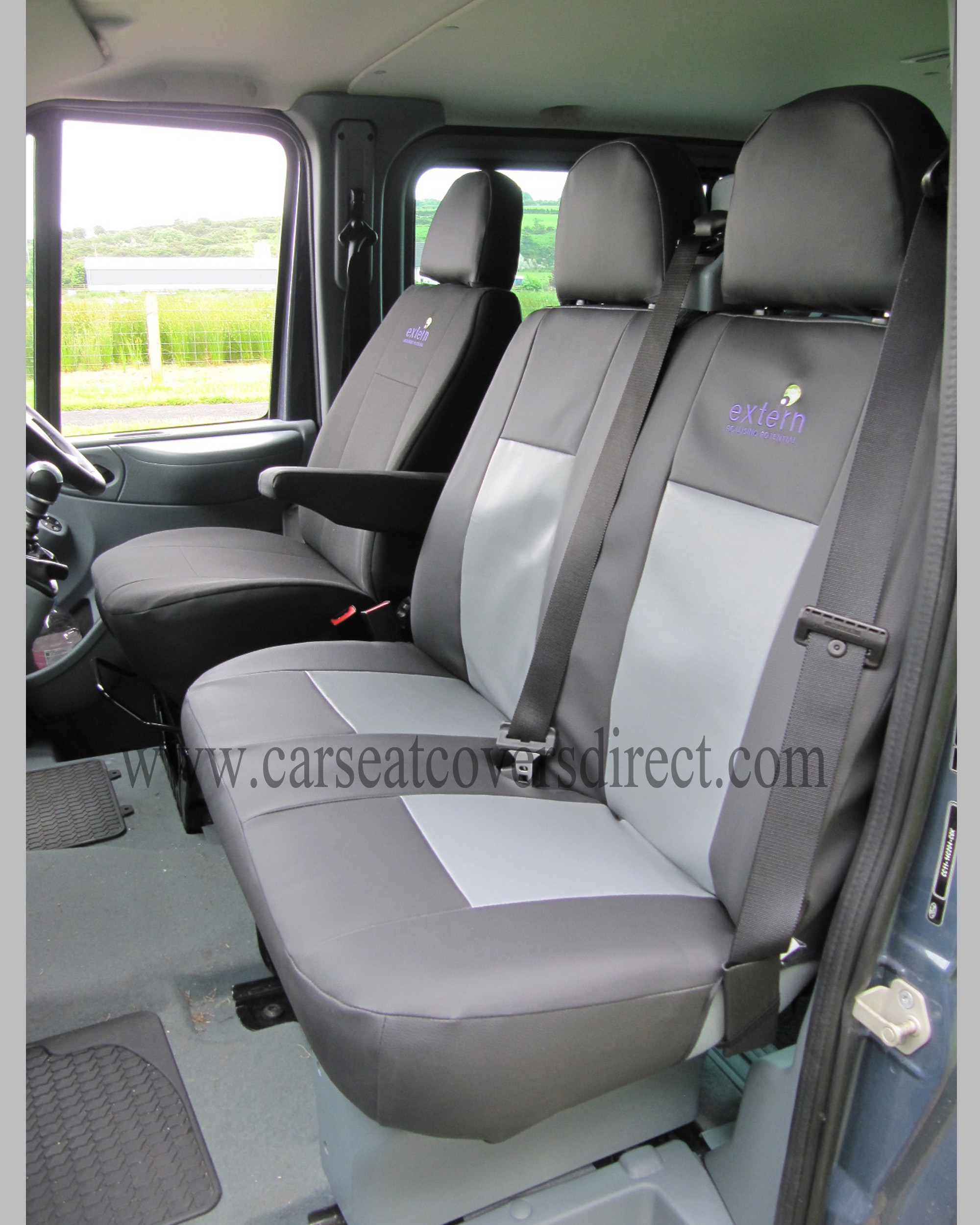Ford transit seat covers velcromag