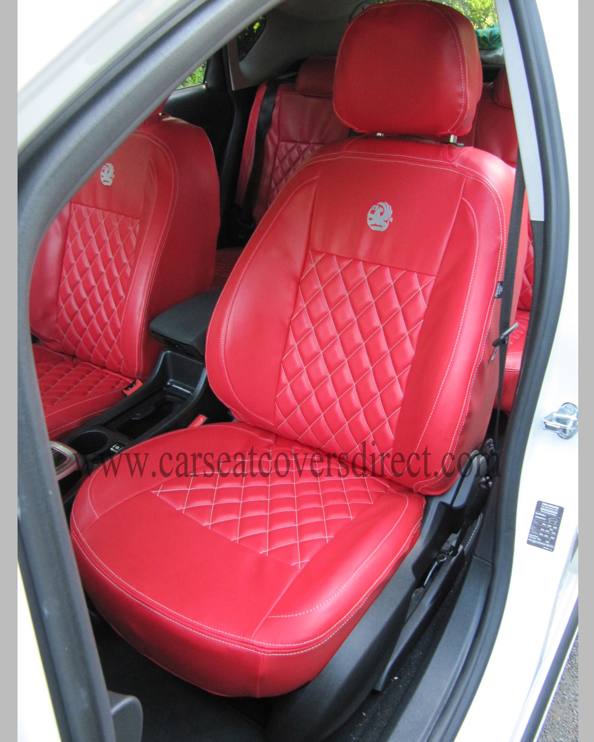 OPEL ASTRA J Diamond Quilted Seat Covers