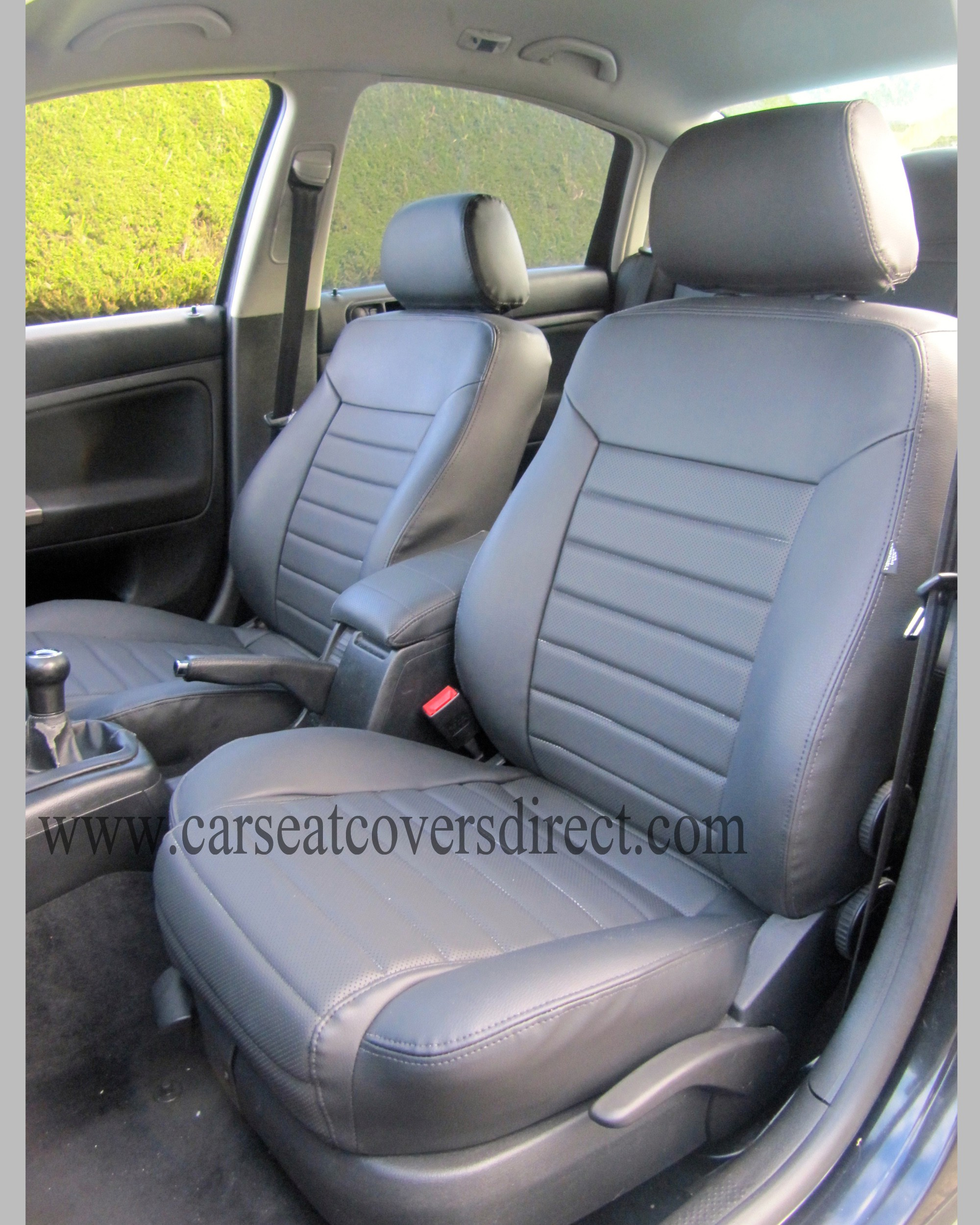 volkswagen vw passat b5 black foam backed seat covers car seat covers direct tailored to your. Black Bedroom Furniture Sets. Home Design Ideas