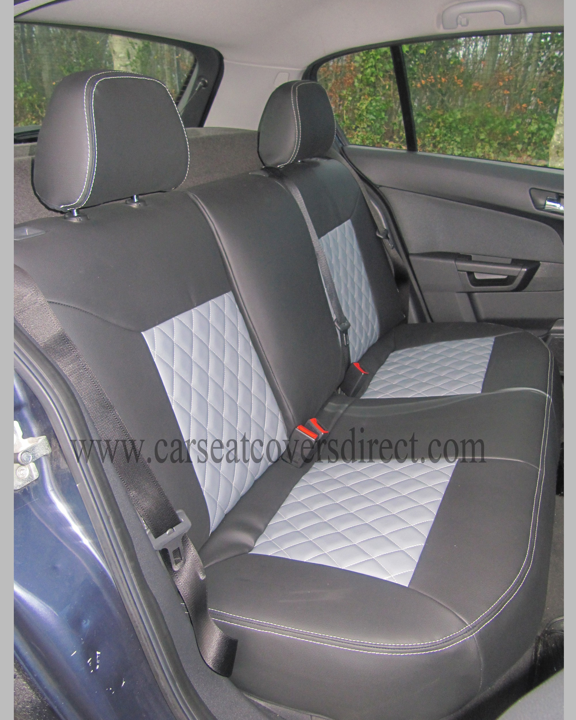 OPEL ASTRA H Diamond Quilted Seat Covers Car Seat Covers