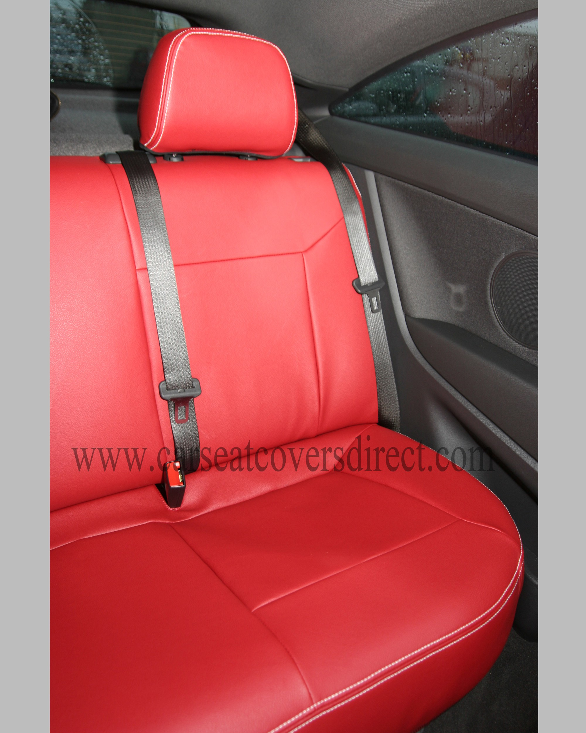 OPEL ASTRA H Red Seat Covers