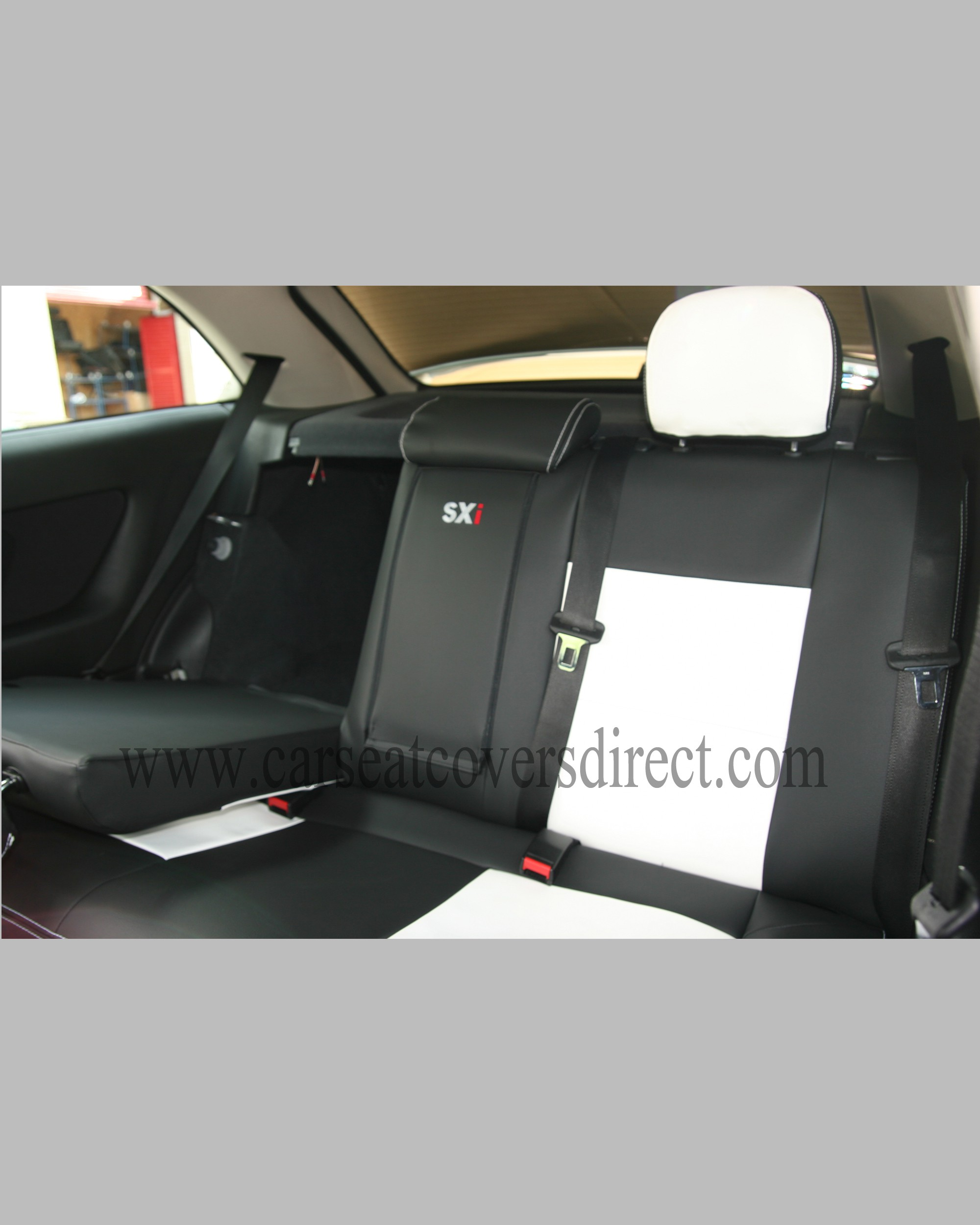 OPEL ASTRA G Black Amp White Seat Covers Car Seat Covers