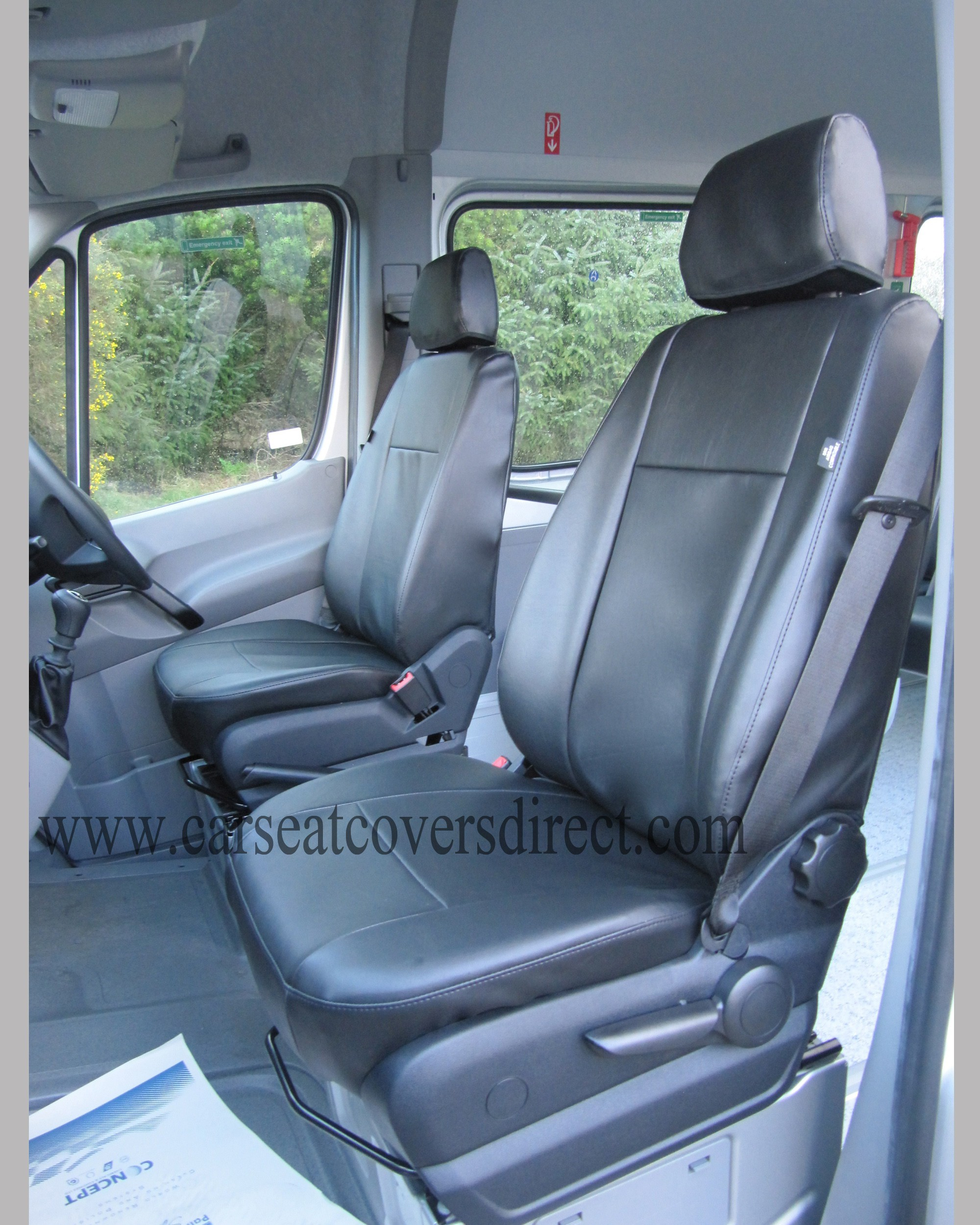 Mercedes sprinter seat covers 17 seater package car seat for Mercedes benz ml350 seat covers