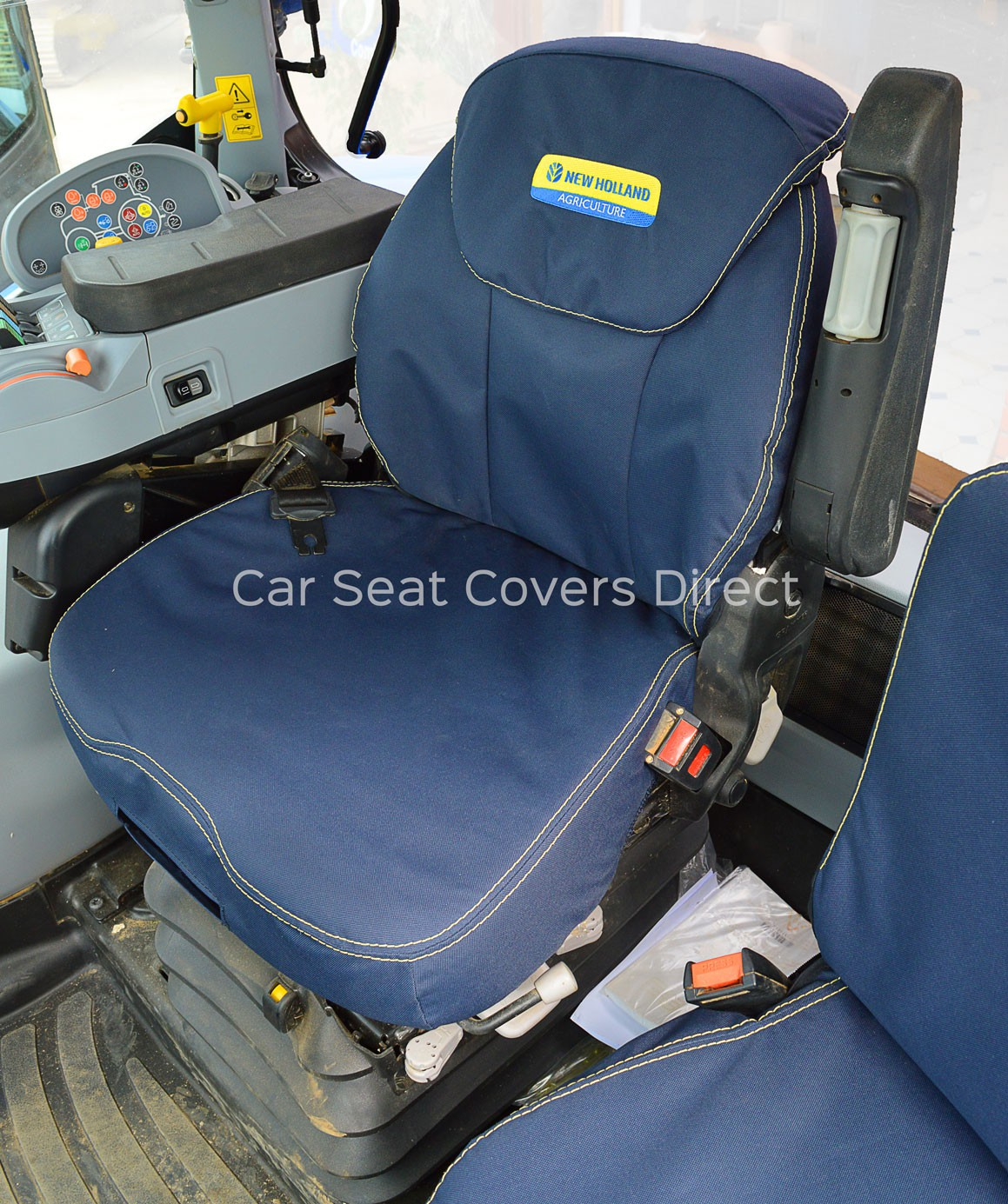 Grammer Seat Covers : New holland t extra heavy duty tractor seat cover with