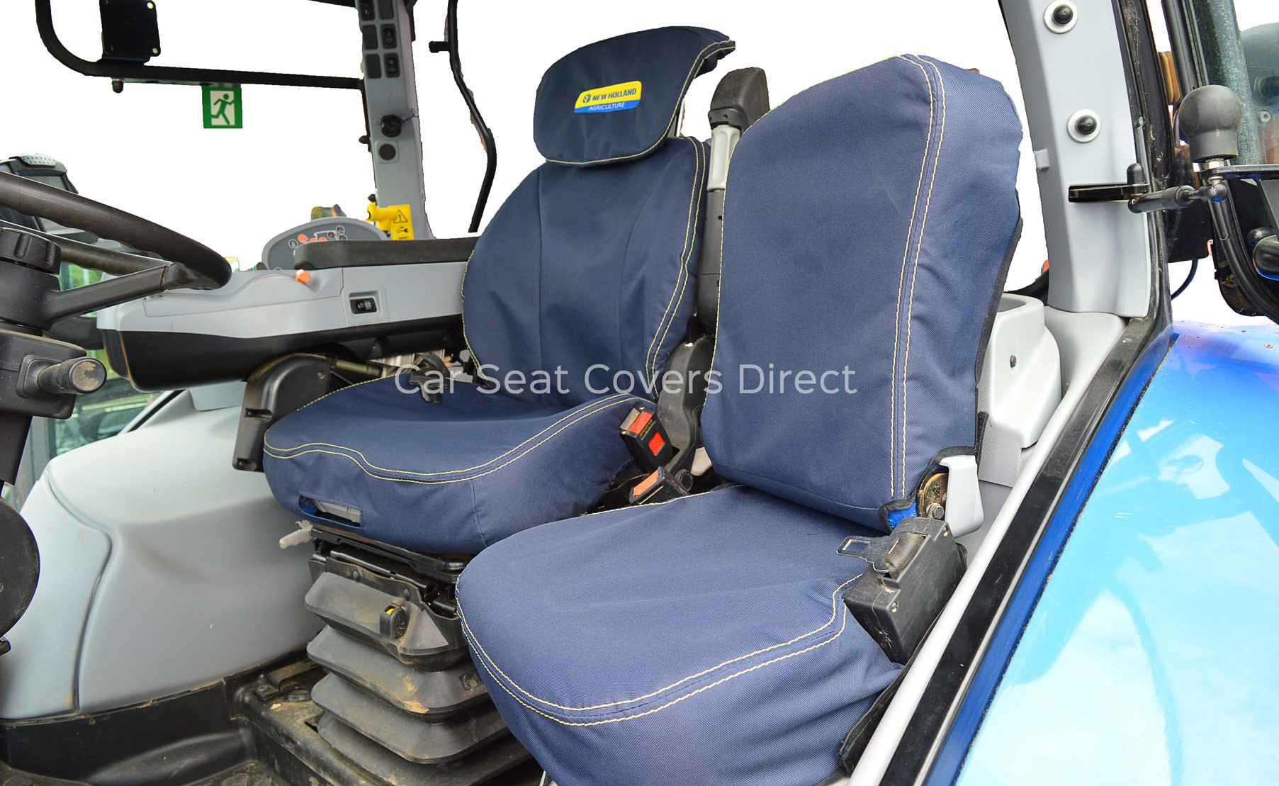 Heavy Truck Seat Covers : New holland t extra heavy duty tractor seat cover with