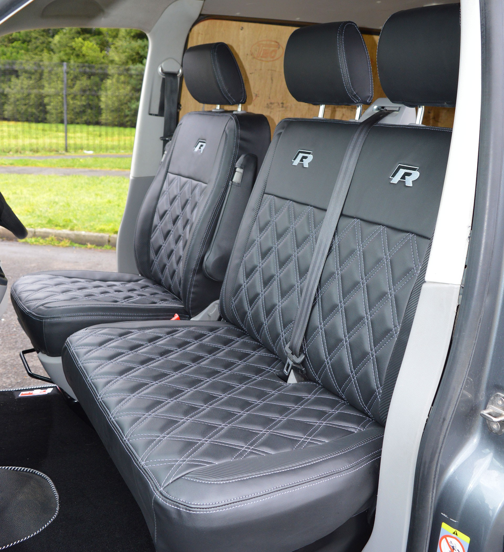 Volkswagen Transporter T6 R Line Tailored Van Seat Covers