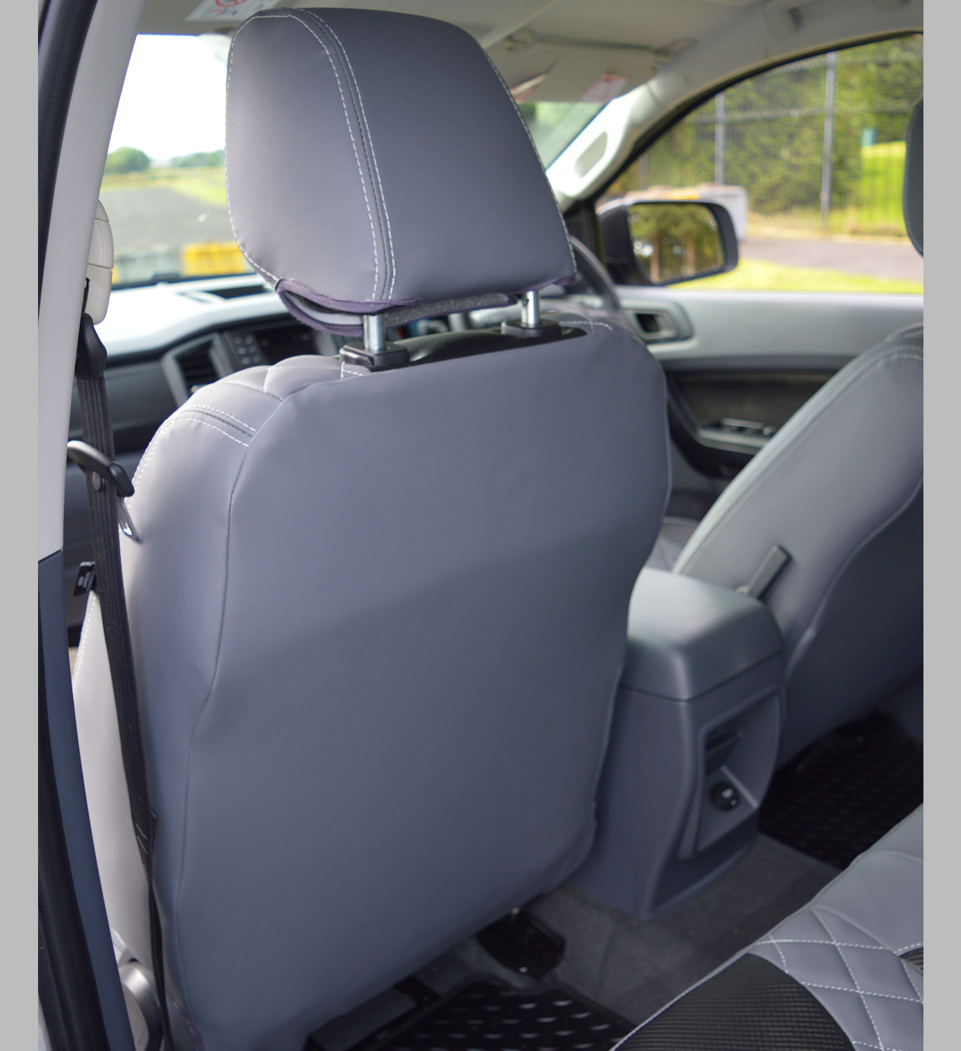 Ford Ranger Diamond Quilted Tailored Waterproof Seat Covers