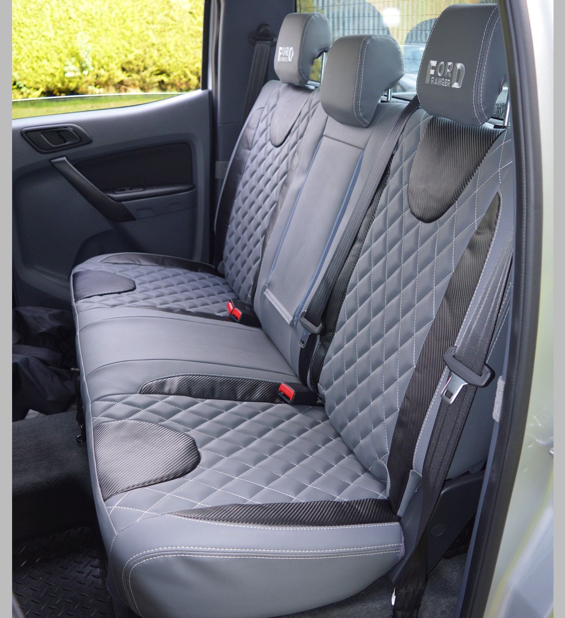Ford Ranger Diamond Quilted Tailored Waterproof Seat