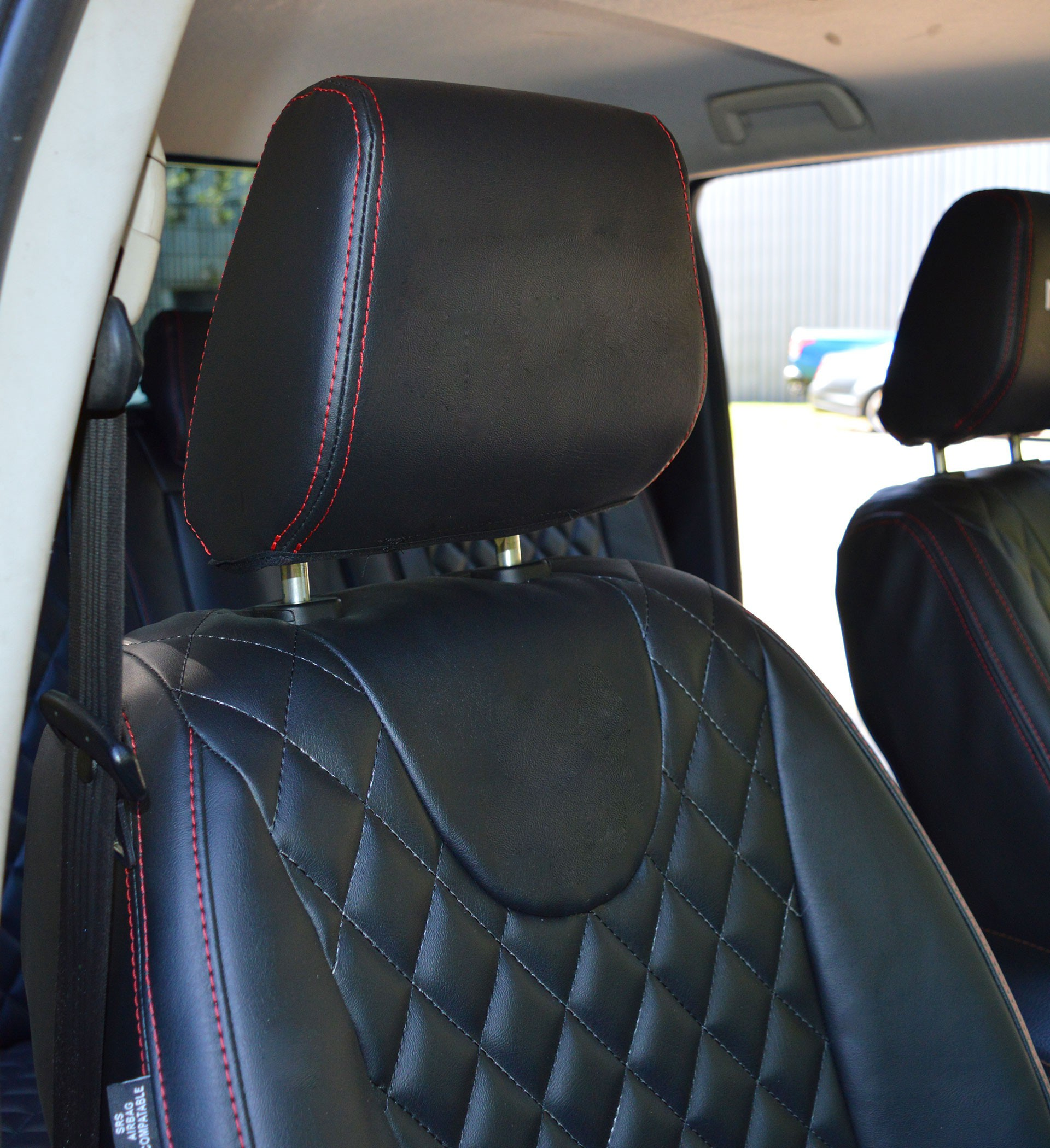 Superb Ford Ranger Tailored Diamond Quilted Seat Covers Machost Co Dining Chair Design Ideas Machostcouk