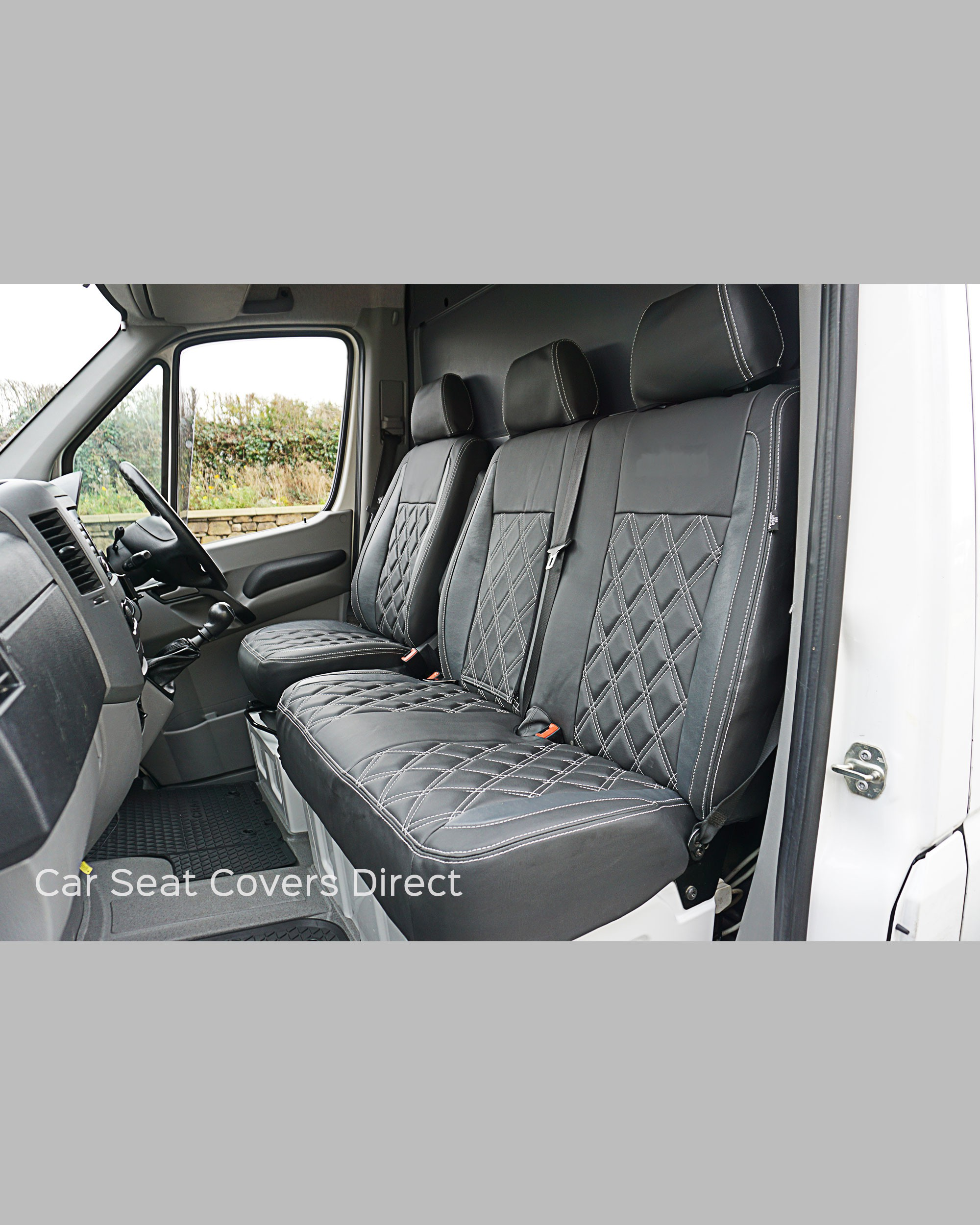 Mercedes sprinter tailored seat covers car seat covers for Mercedes benz sprinter seats