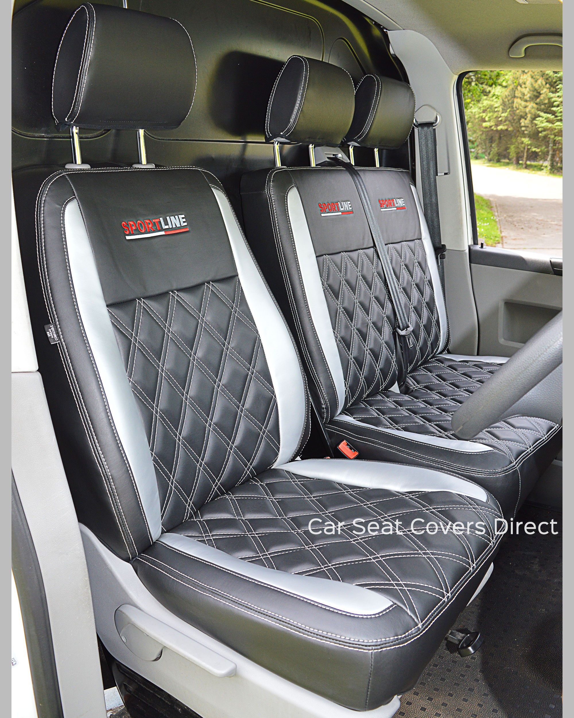 Volkswagen Transporter T6 Tailored Seat Covers