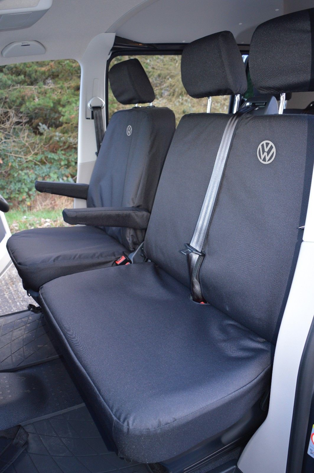 Vw T5 Seat Covers Vw Logos Heavy Duty