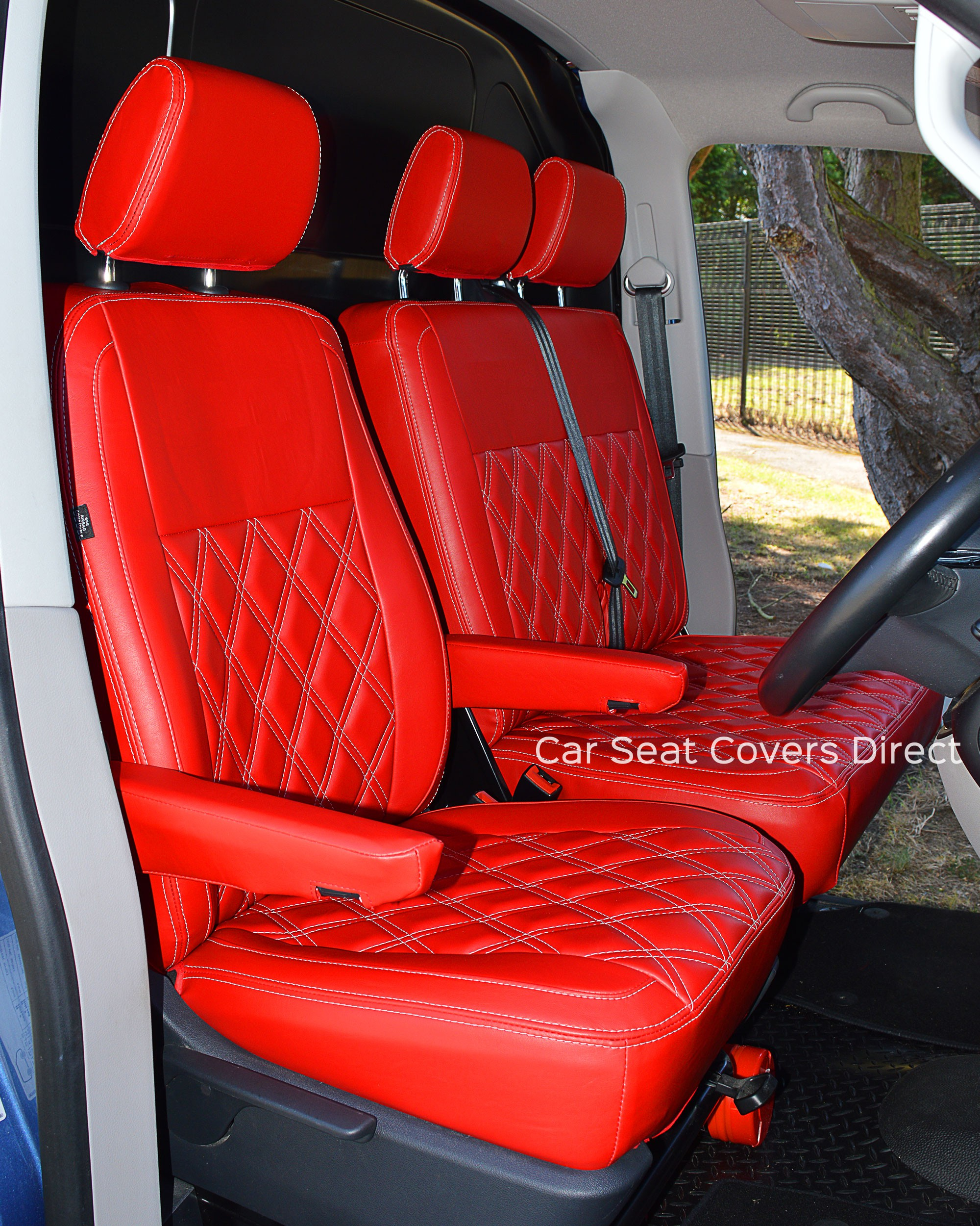 VW Transporter T5 Tailored Seat Covers