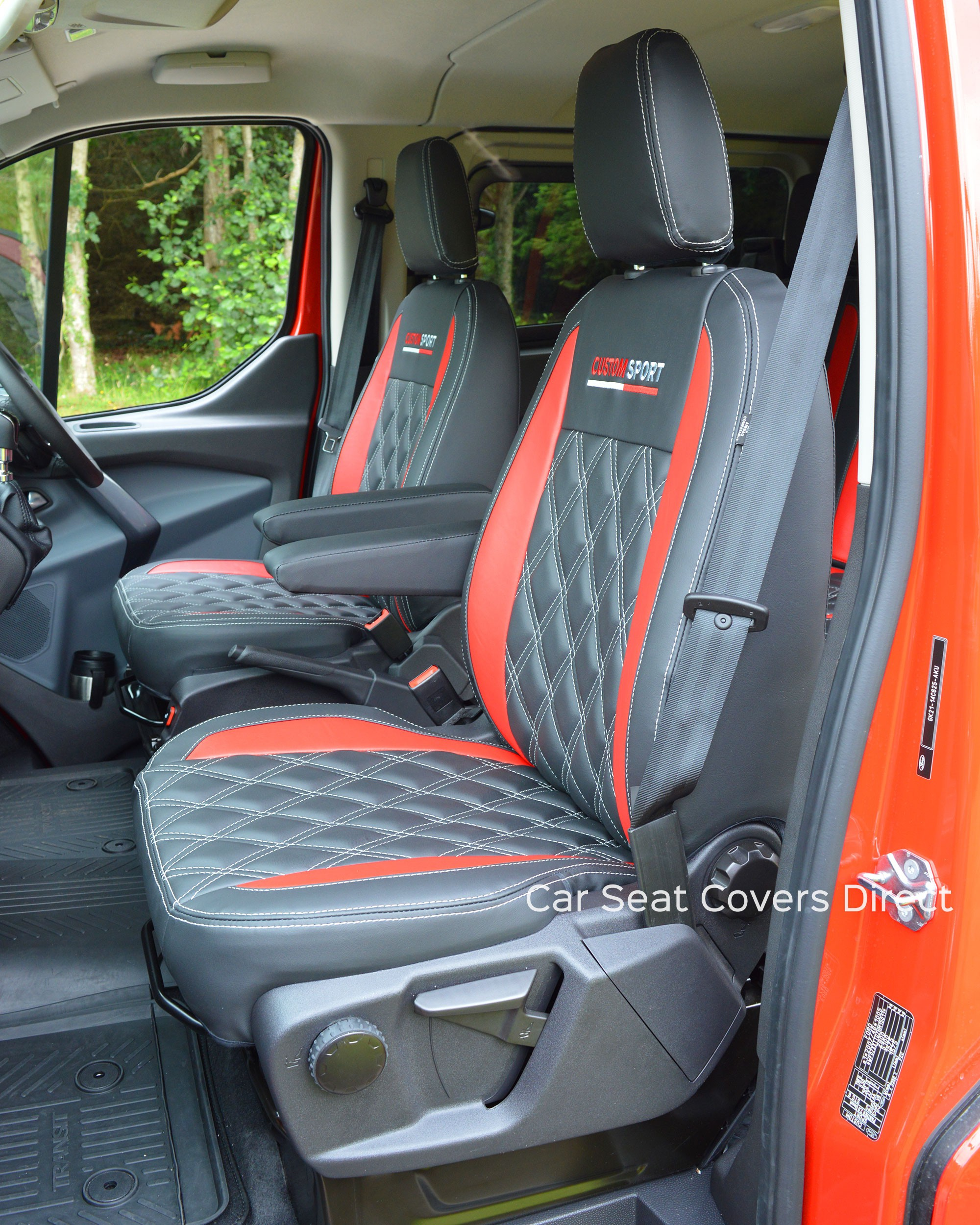 Ford Transit Custom Sport Crewcab Tailored Seat Covers