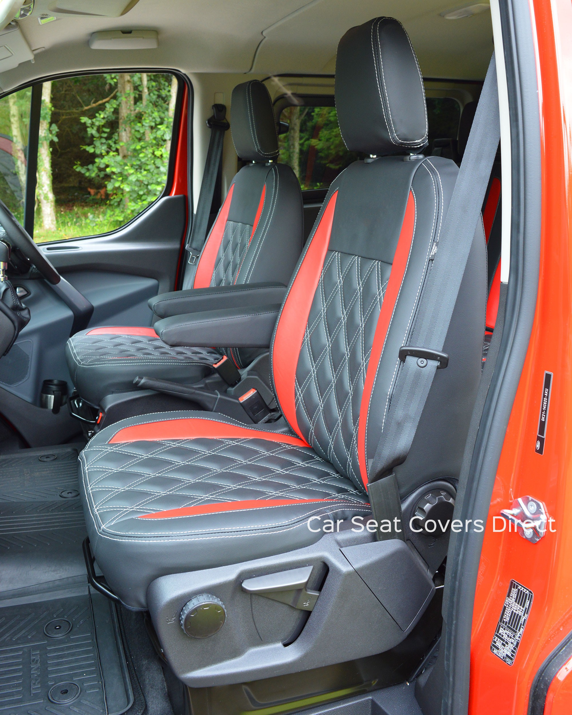 Ford Transit Custom Sport Crewcab Tailored Seat Covers Car ...