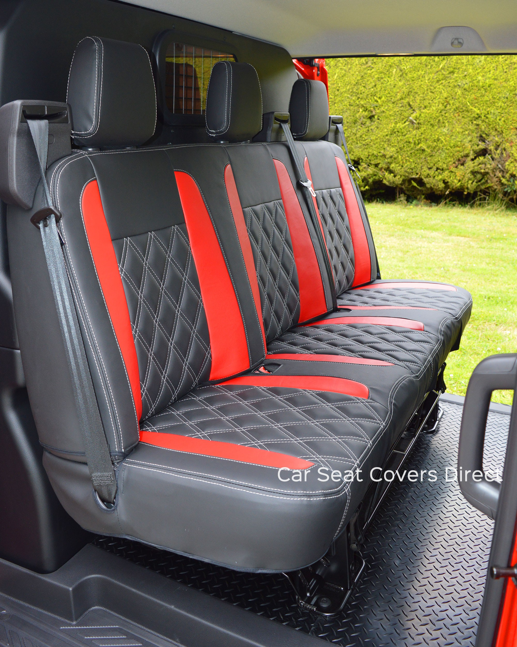 Ford Transit Custom Sport Crewcab Tailored Seat Covers Car Seat Covers Direct Tailored To Your