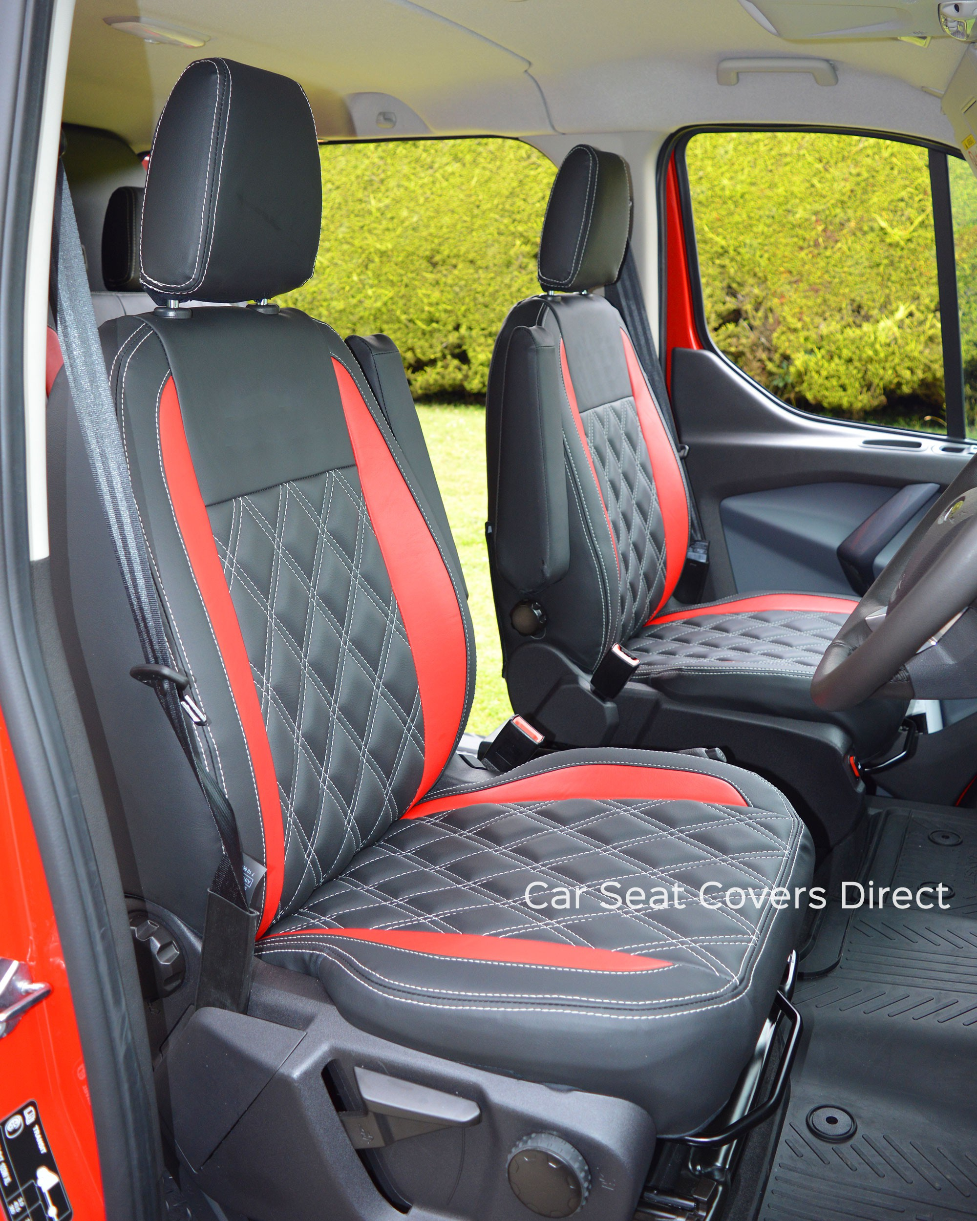 Ford Transit Custom Sport Crewcab Tailored Seat Covers Car