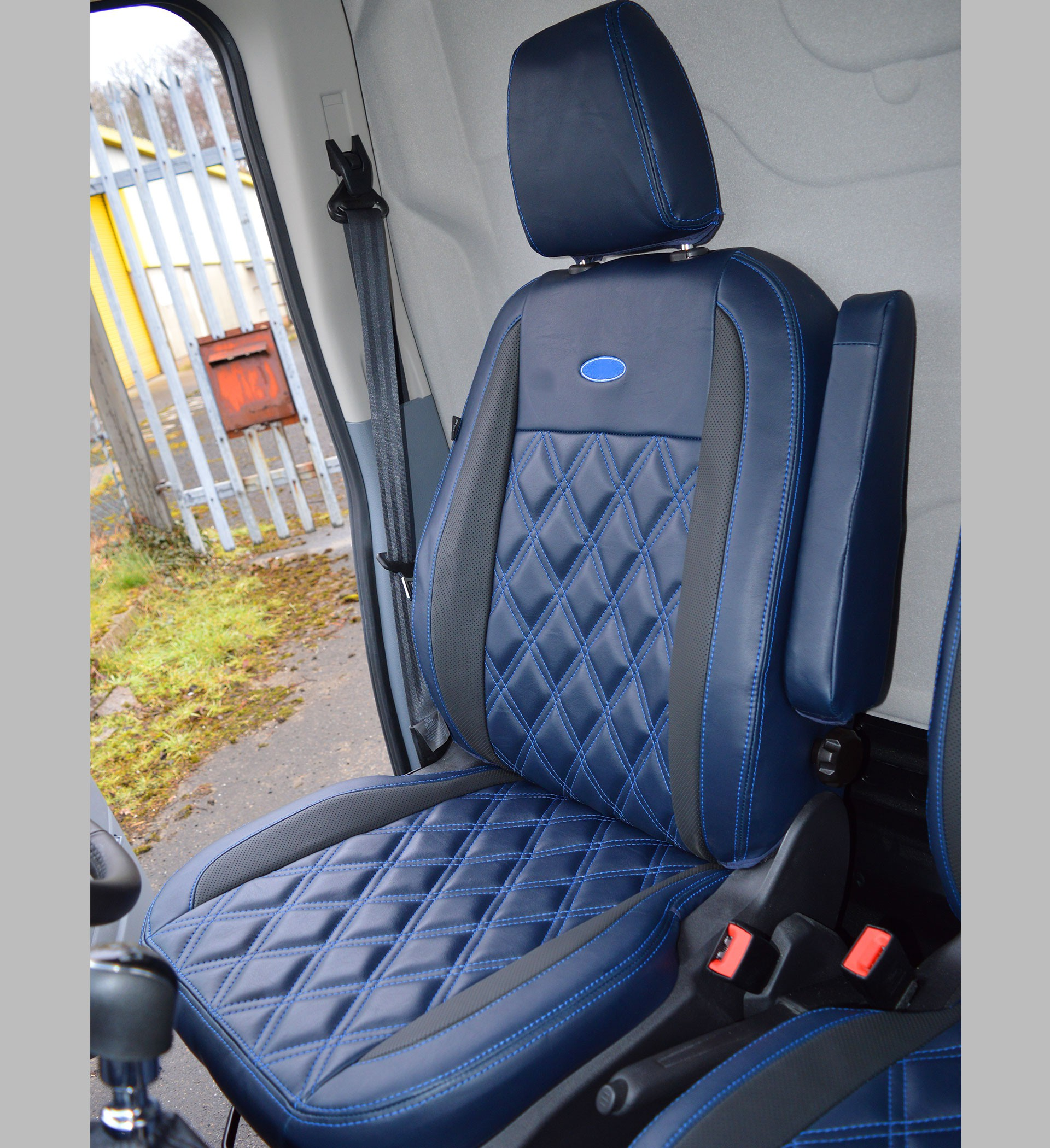 Ford Transit Mk8 Waterproof Tailored Van Seat Covers