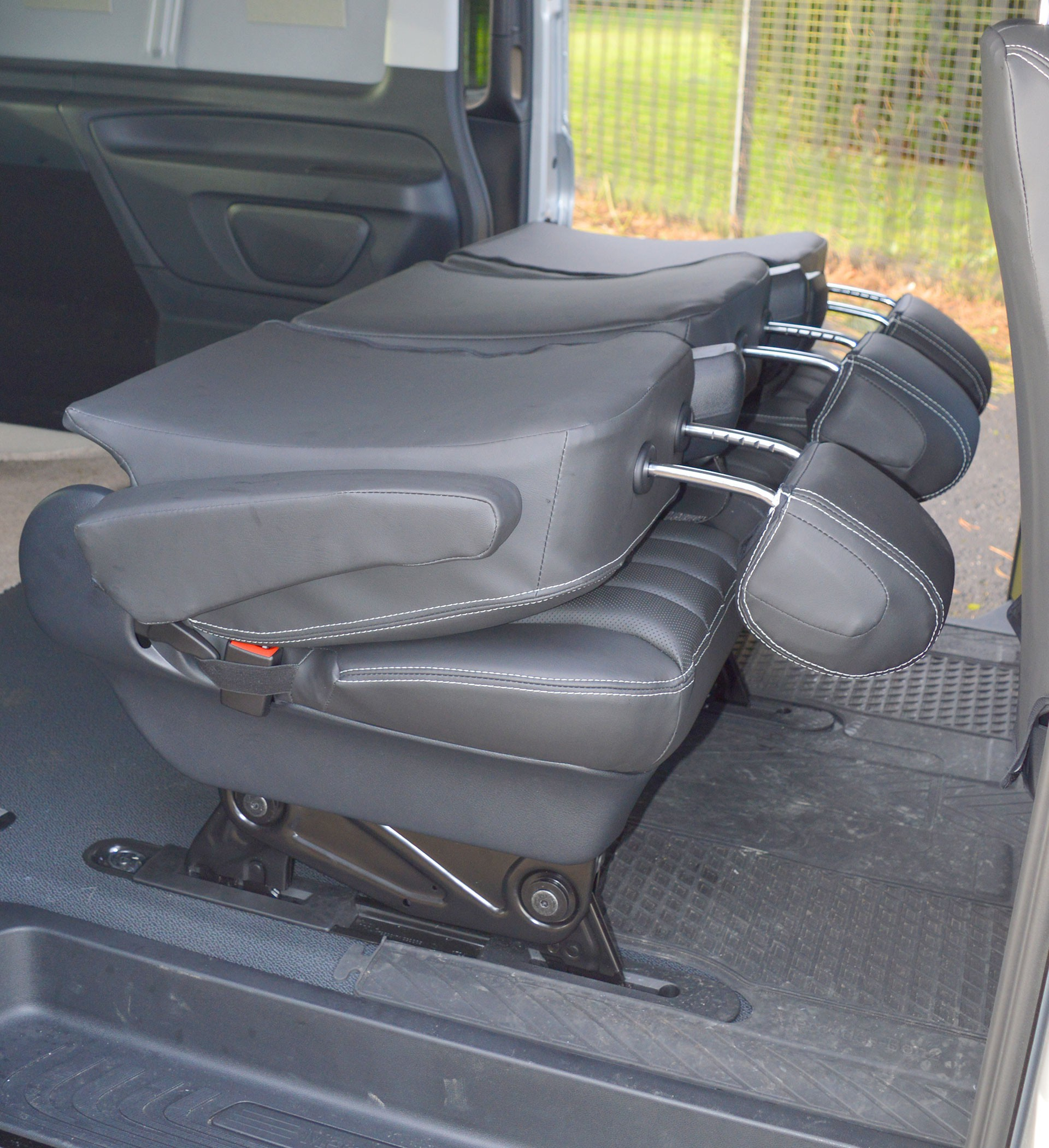 Mercedes Benz Vito W447 Tailored Van Seat Covers With Memory Foam - 5 Seater Car Seat Covers ...