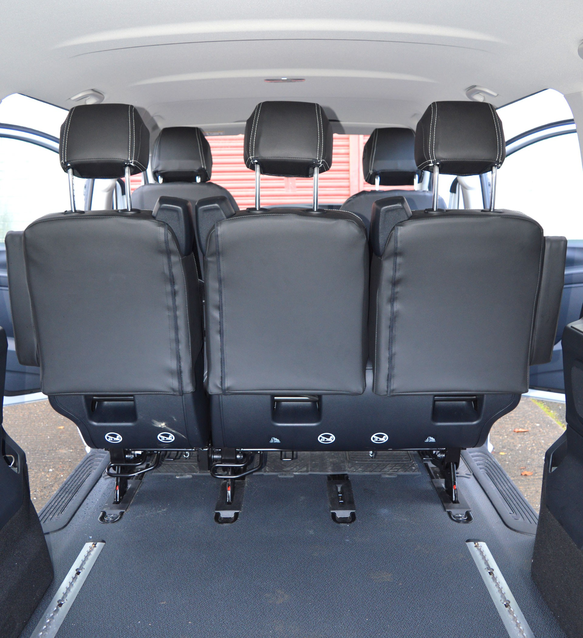 Car Bench Seat Covers >> Mercedes Benz Vito W447 Tailored Van Seat Covers With ...