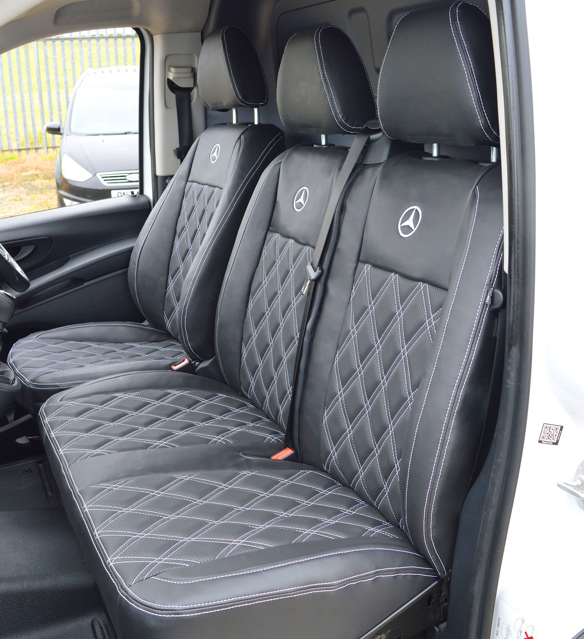 Mercedes Benz Vito W447 Tailored Diamond Quilted Van Seat