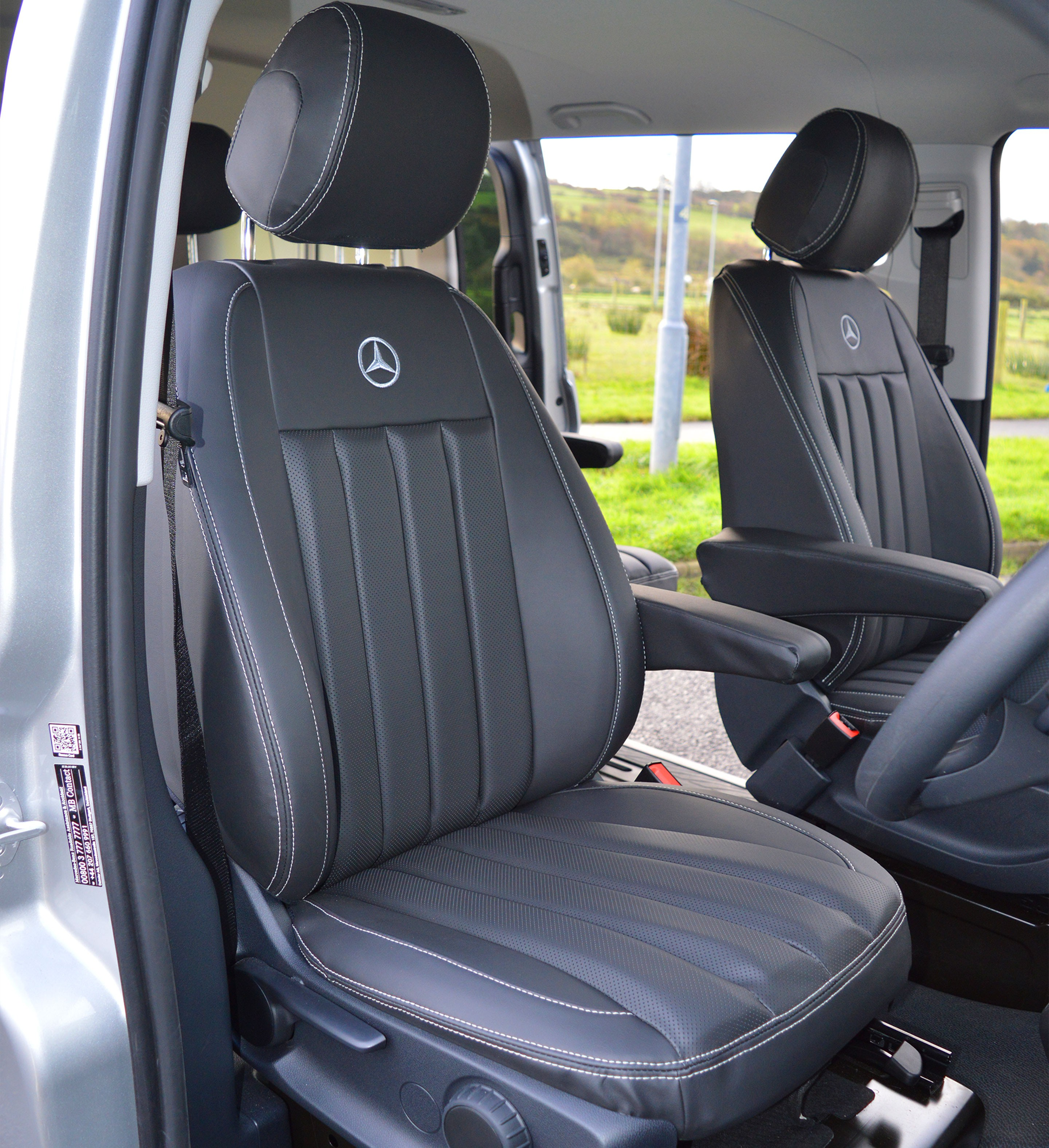 Custom Tailored Fit Van Mats Mercedes Vito W447 2015-present