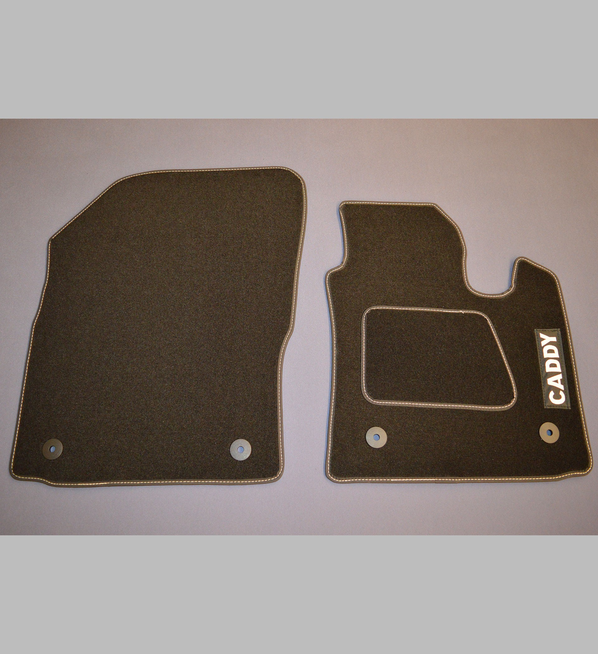 Volkswagen Vw Caddy Custom Floor Mats With Caddy Logo Car
